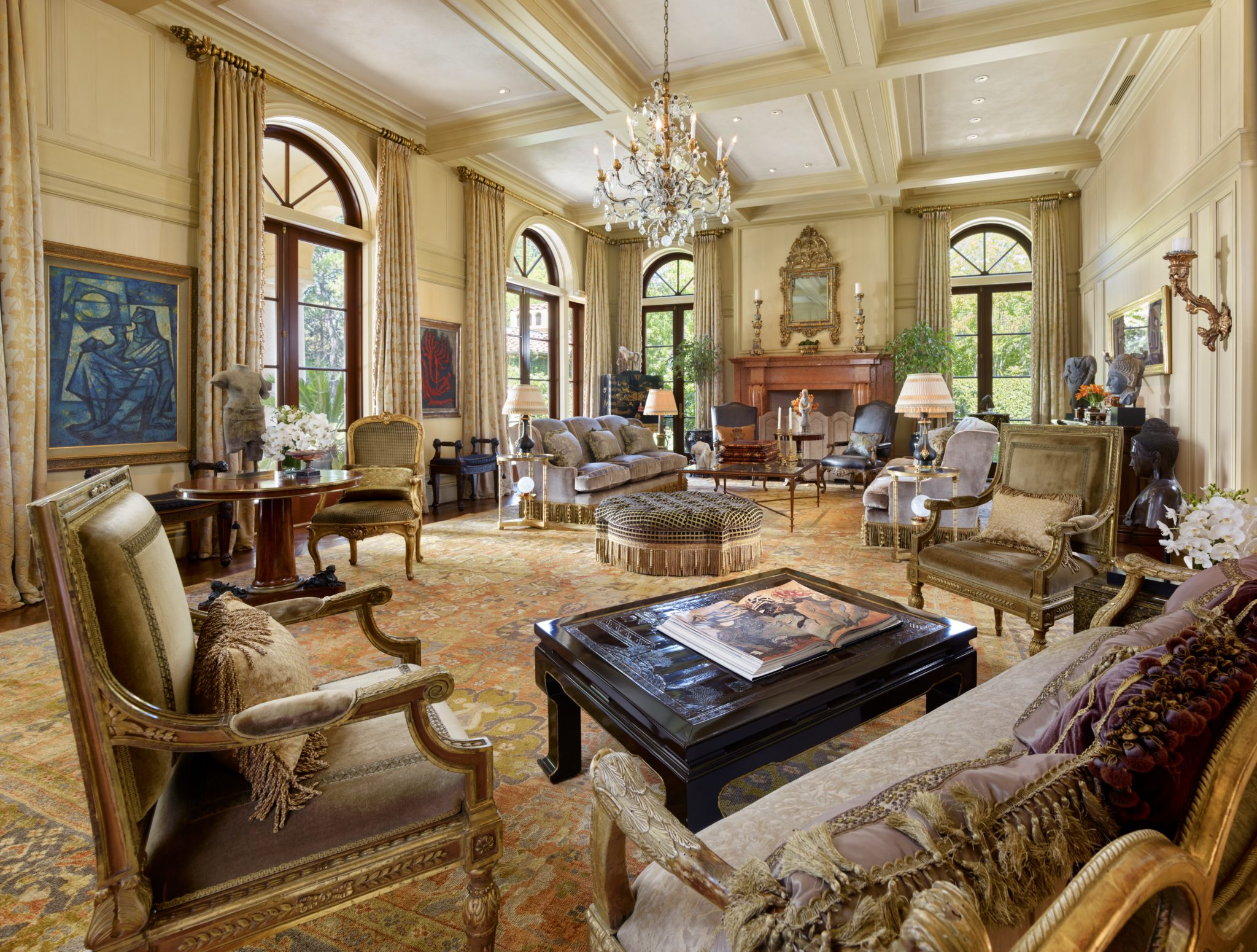 Refined mix - 17th & 18th century French, Italian antiques and custom furnishings. By David Kensington