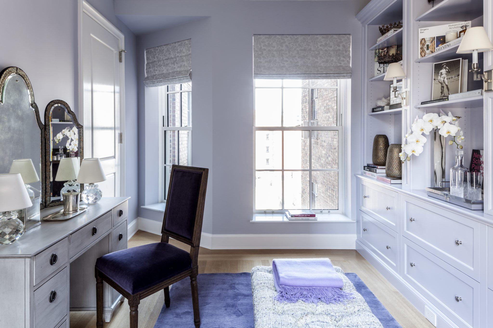 18 Gramercy Park South - 10th Floor - Dressing Room by Bennett Leifer Interiors