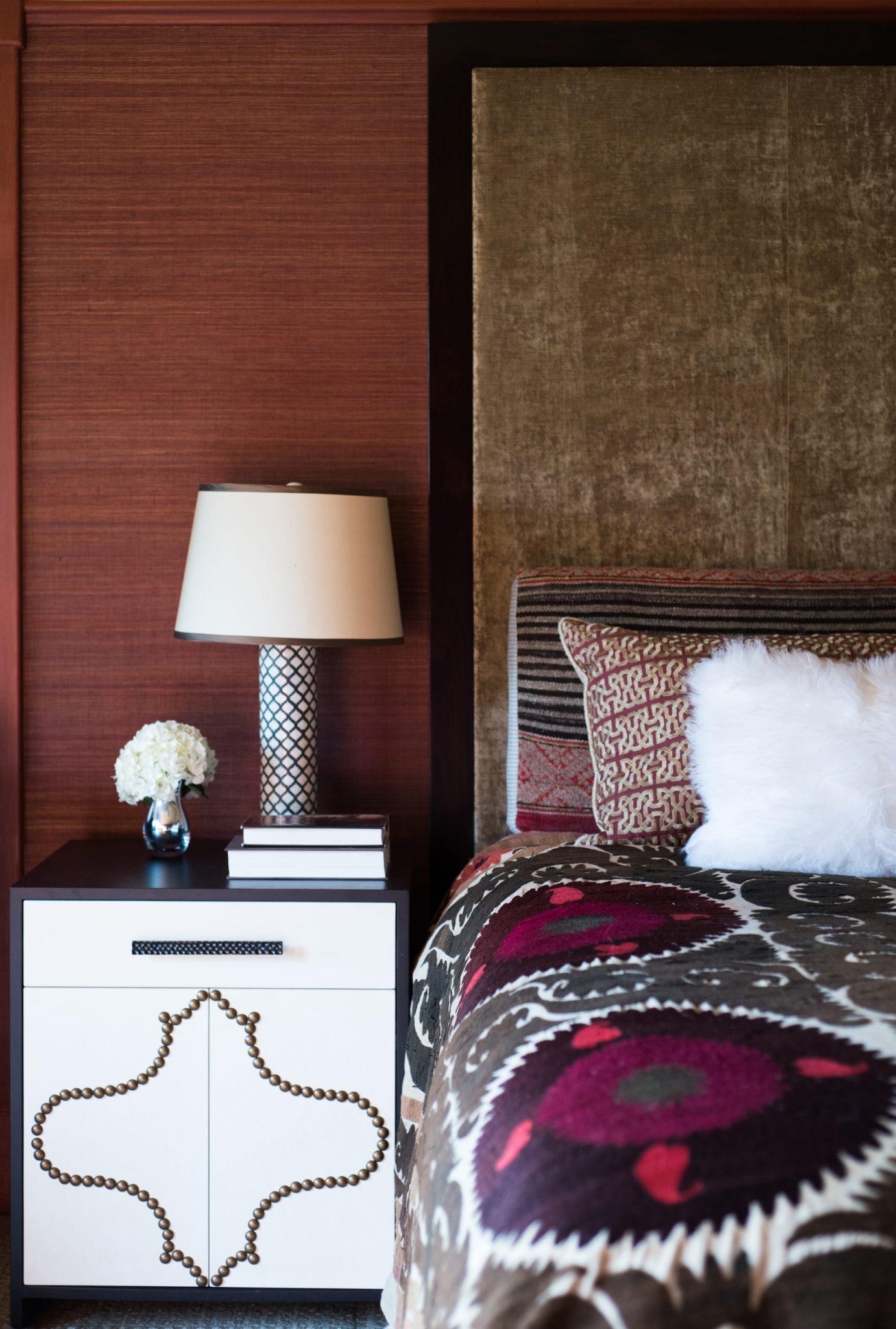 Modern Craftsman, San Rafael, CA - Master Bedroom by Holly A. Kopman Interior Design