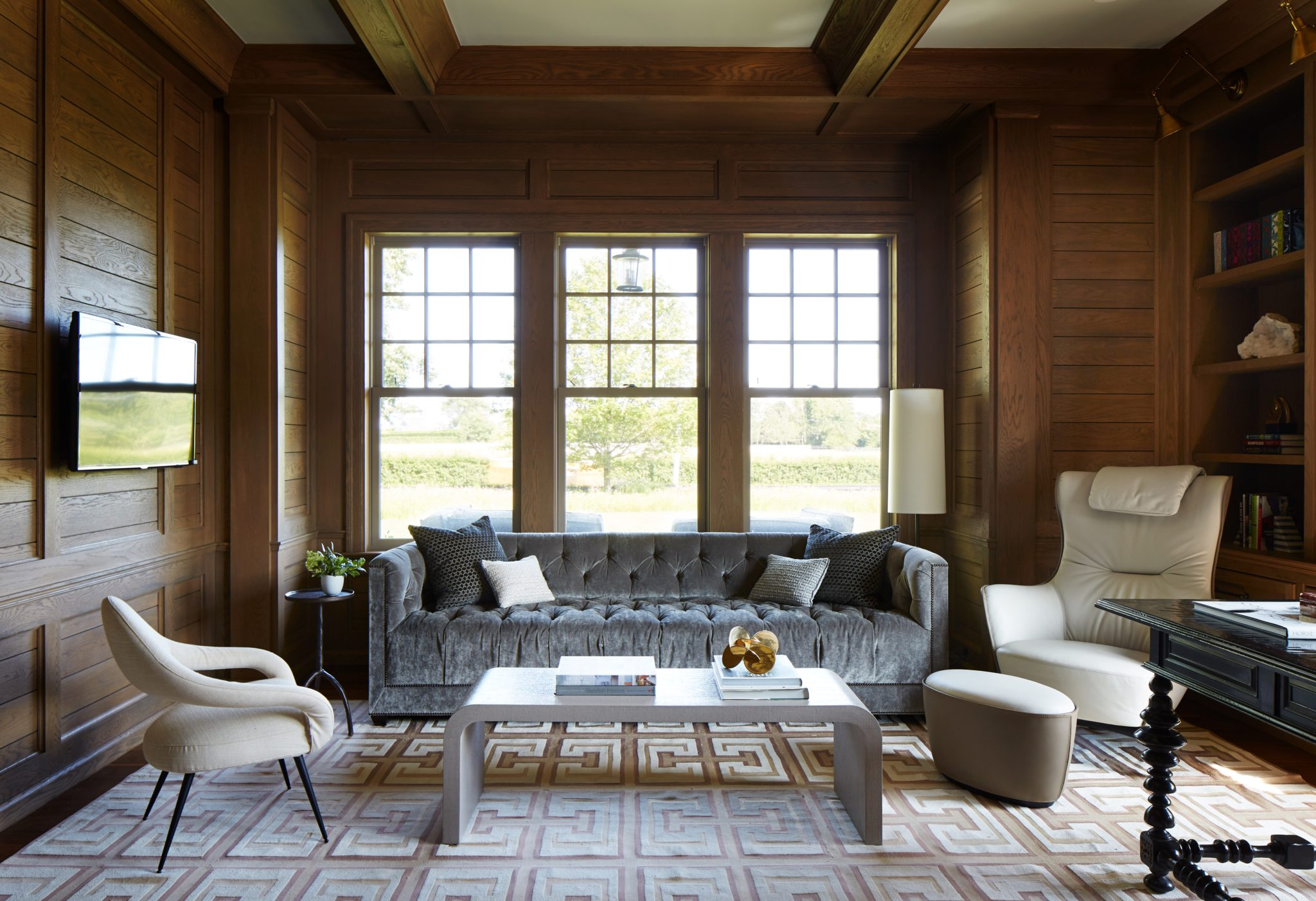 Water Mill Hampton Study by Rinat Lavi Interiors