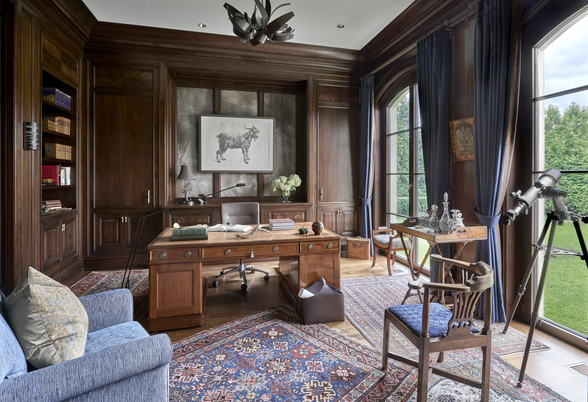 Traditional Office and Study by BGD&C Custom Homes