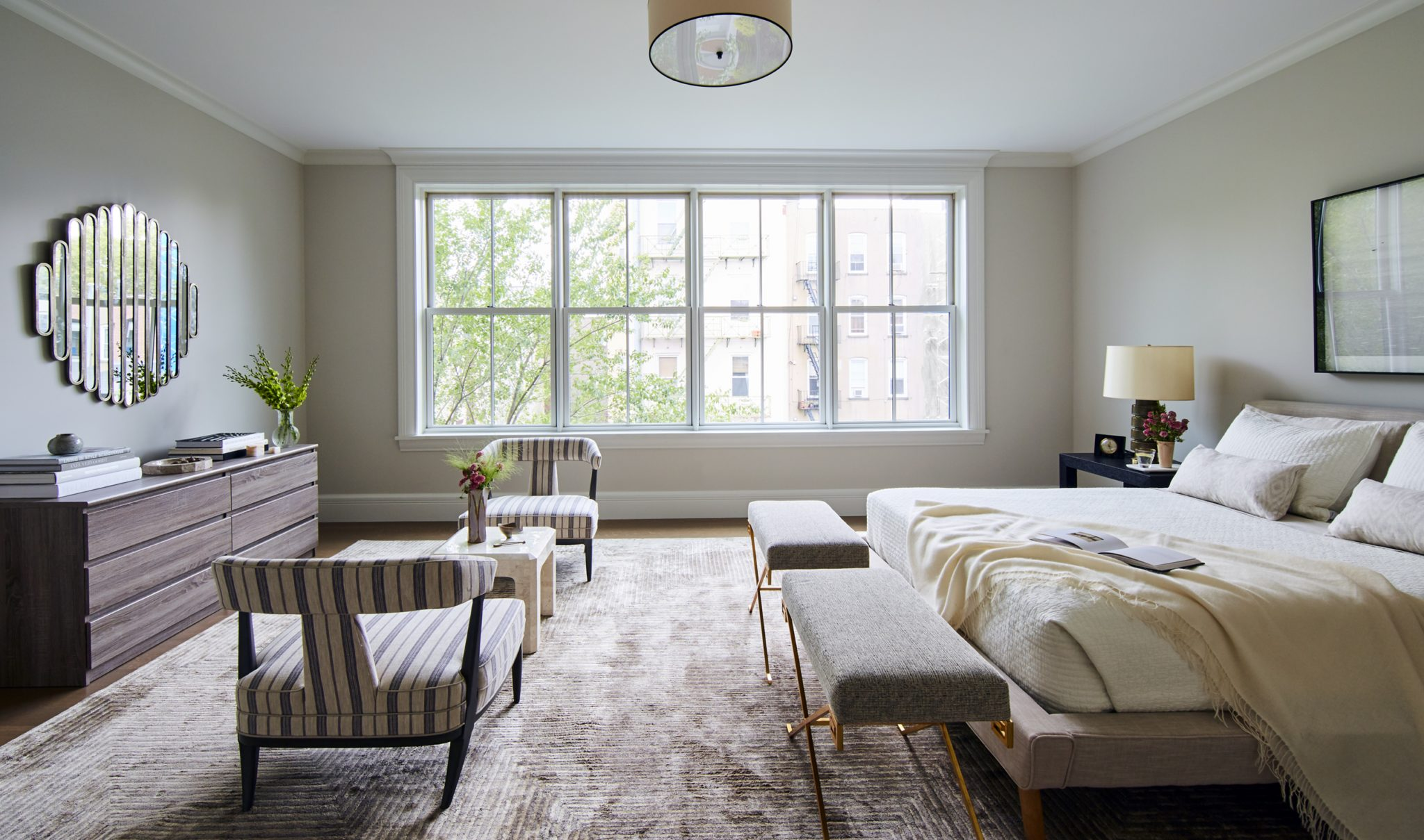 Bedroom in Hoboken, New Jersey,by J. PATRYCE DESIGN