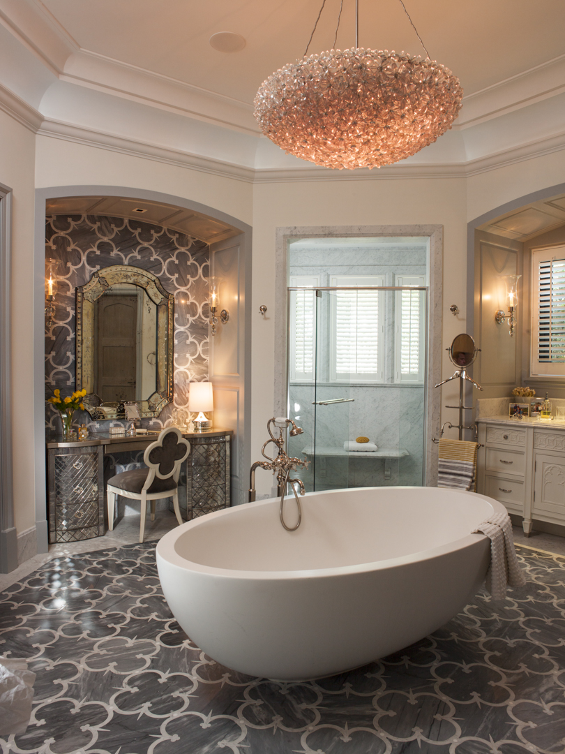 An elegant bathroom by Taylor & Taylor