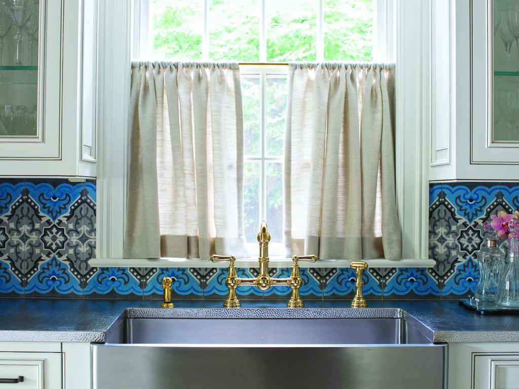 33 Colorful Kitchen Backsplashes Chairish Blog