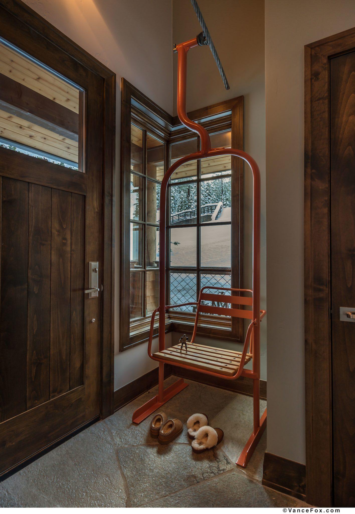 Co-Z Cabin Entry Way by Scott Corridan Design