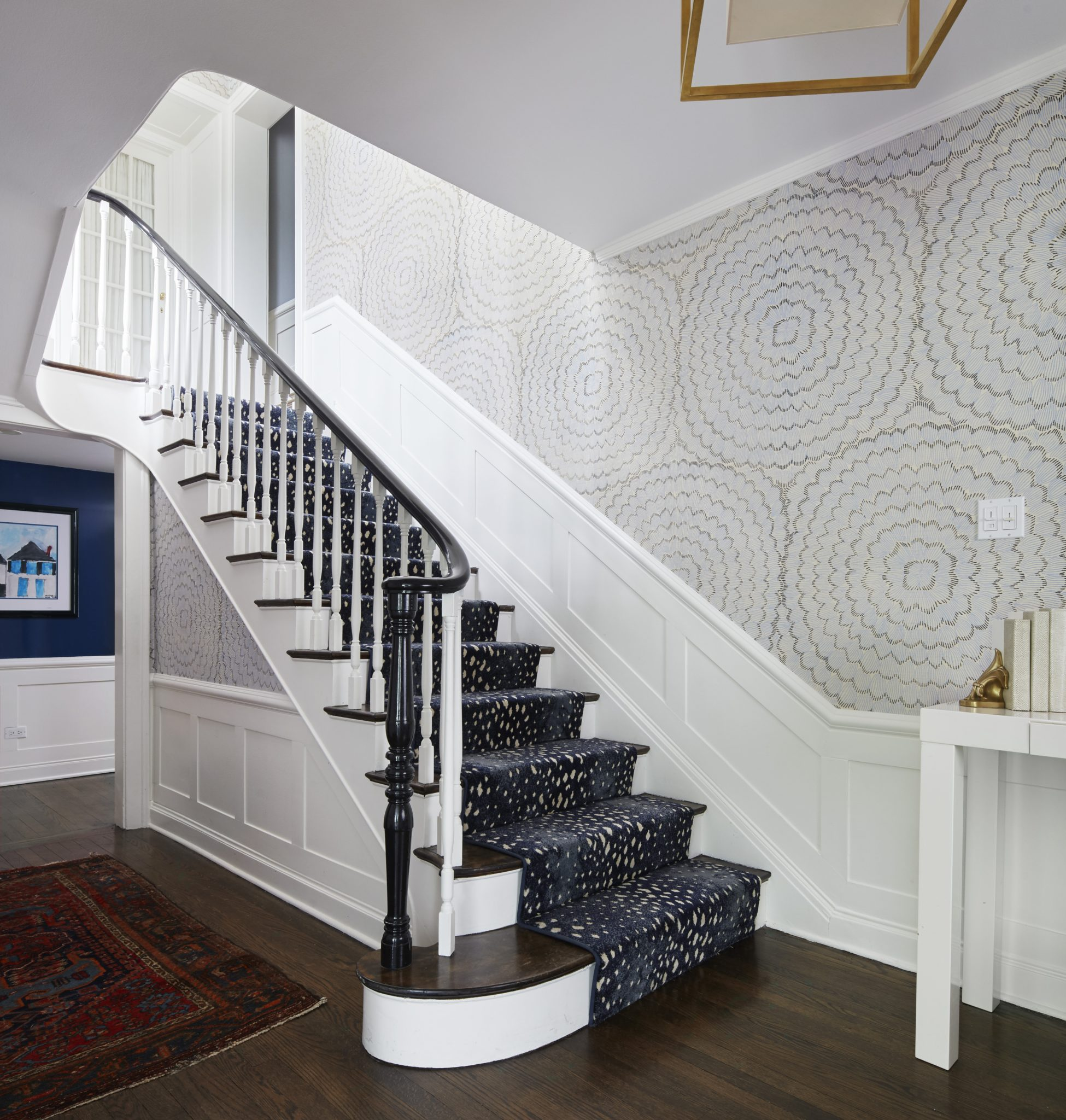 Staircase by Amy Kartheiser Design