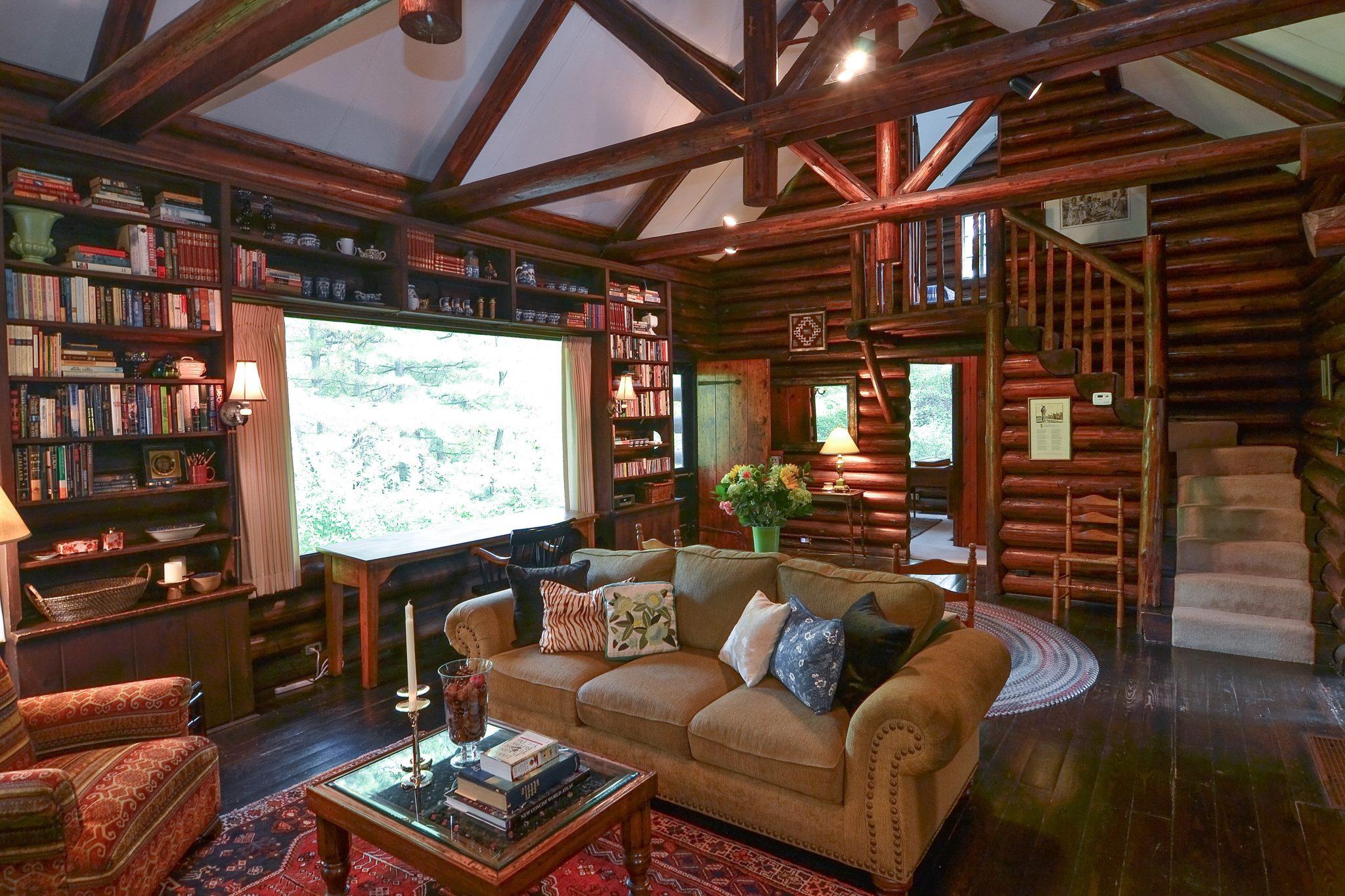 1920's Log Cabin by James John Flynn