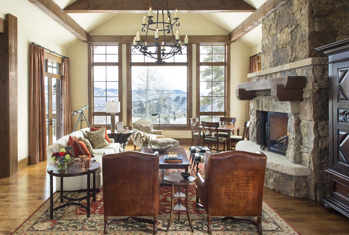 Mountain Traditional with French Country Influence by Slifer Designs