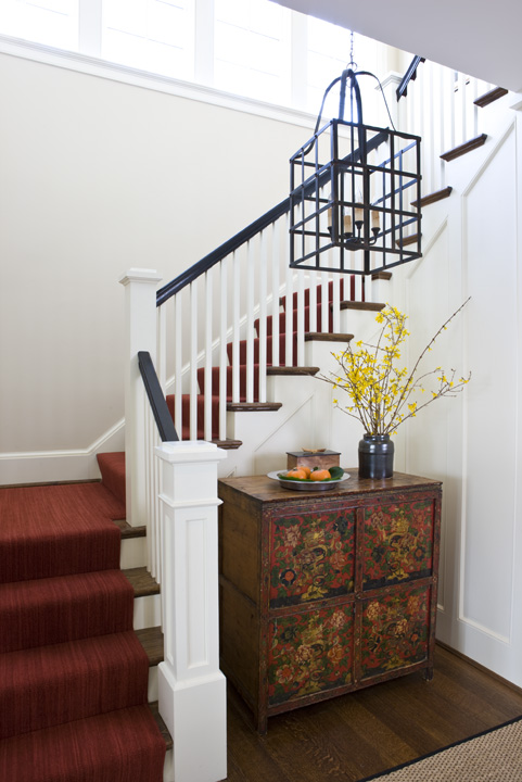 Staircase Detail by Anne Decker Architects