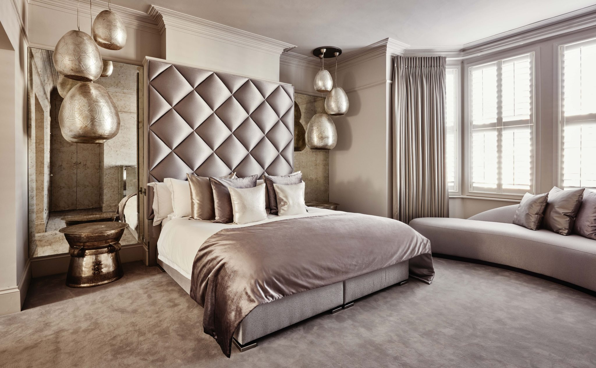 London City apartment master bedroom by Eric Kuster Metropolitan Luxury