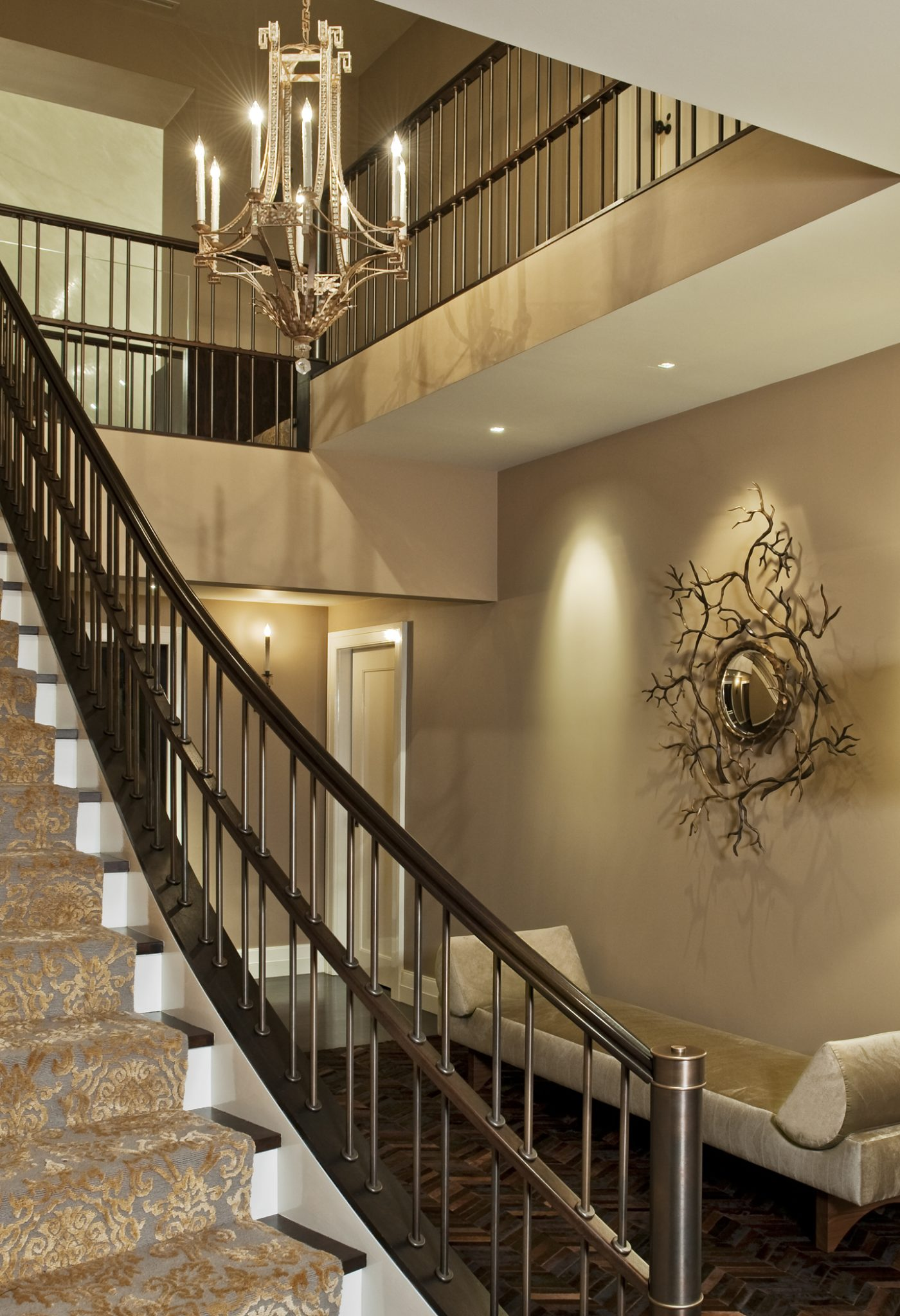 Staircase in Private Residence by Planeta Design Group