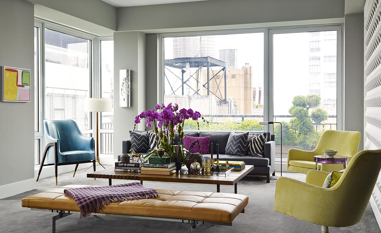 New York City duplex penthouse by Scott Sanders
