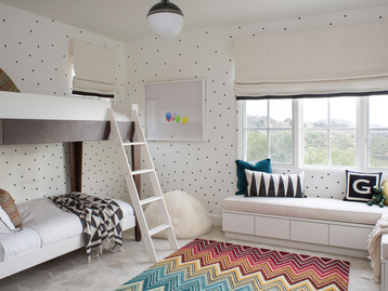 Bella Vista Kids Room - Santa Barbara, California by SFA Design