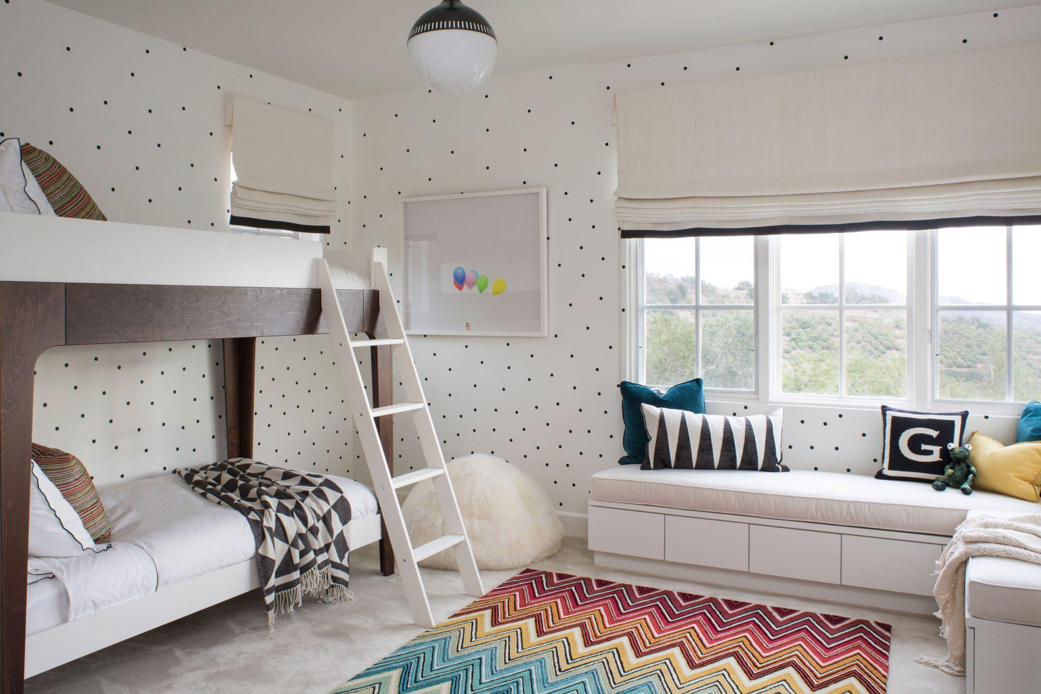 Bella Vista Kids Room - Santa Barbara, California by SFA Design