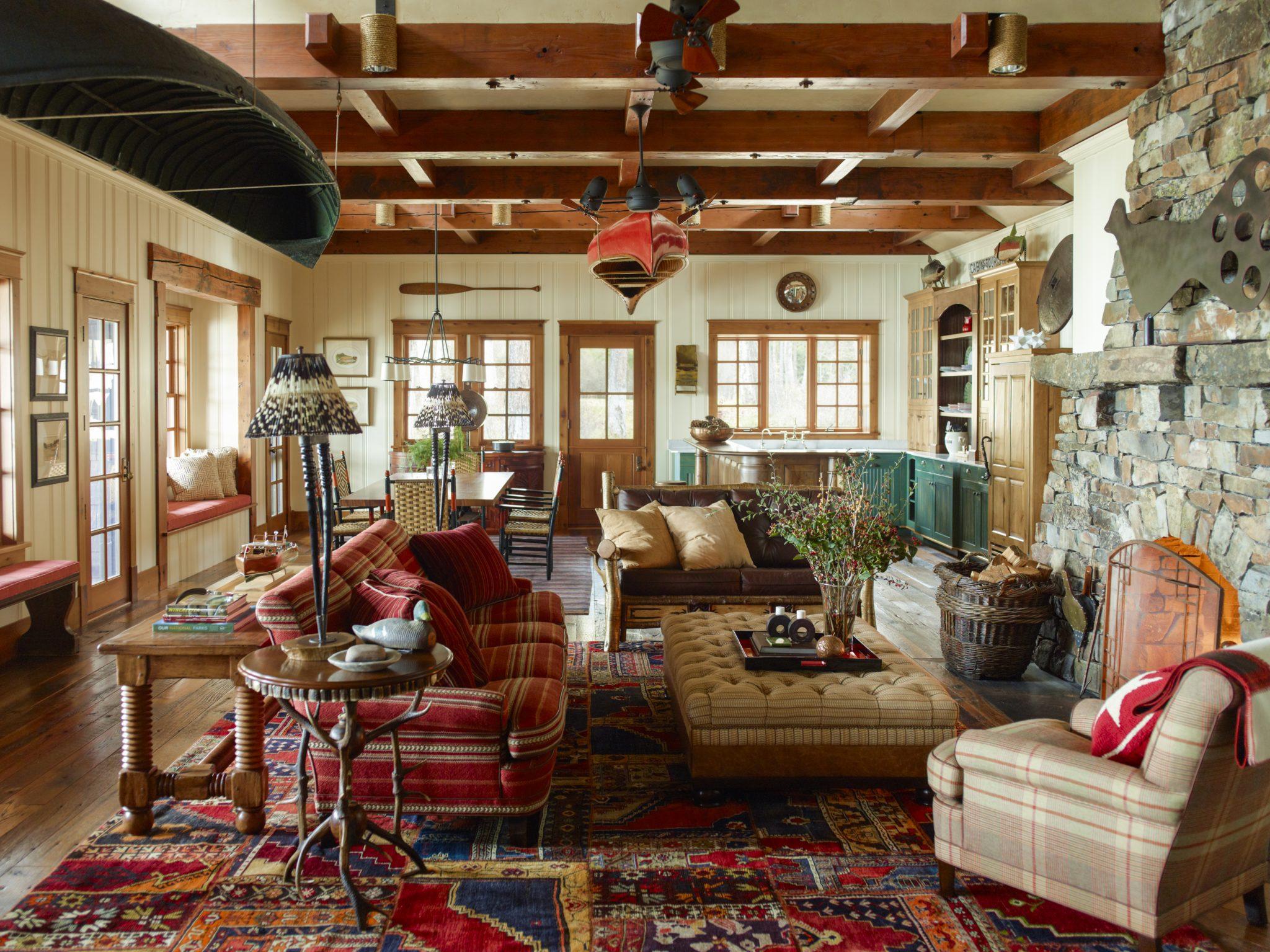 Montana Fishing Lodge by Juan Montoya Design
