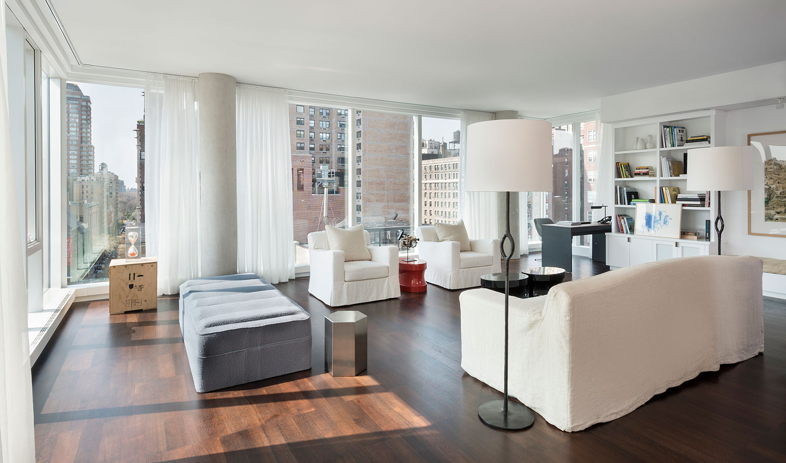 Upper East Side apartment by Frampton Co