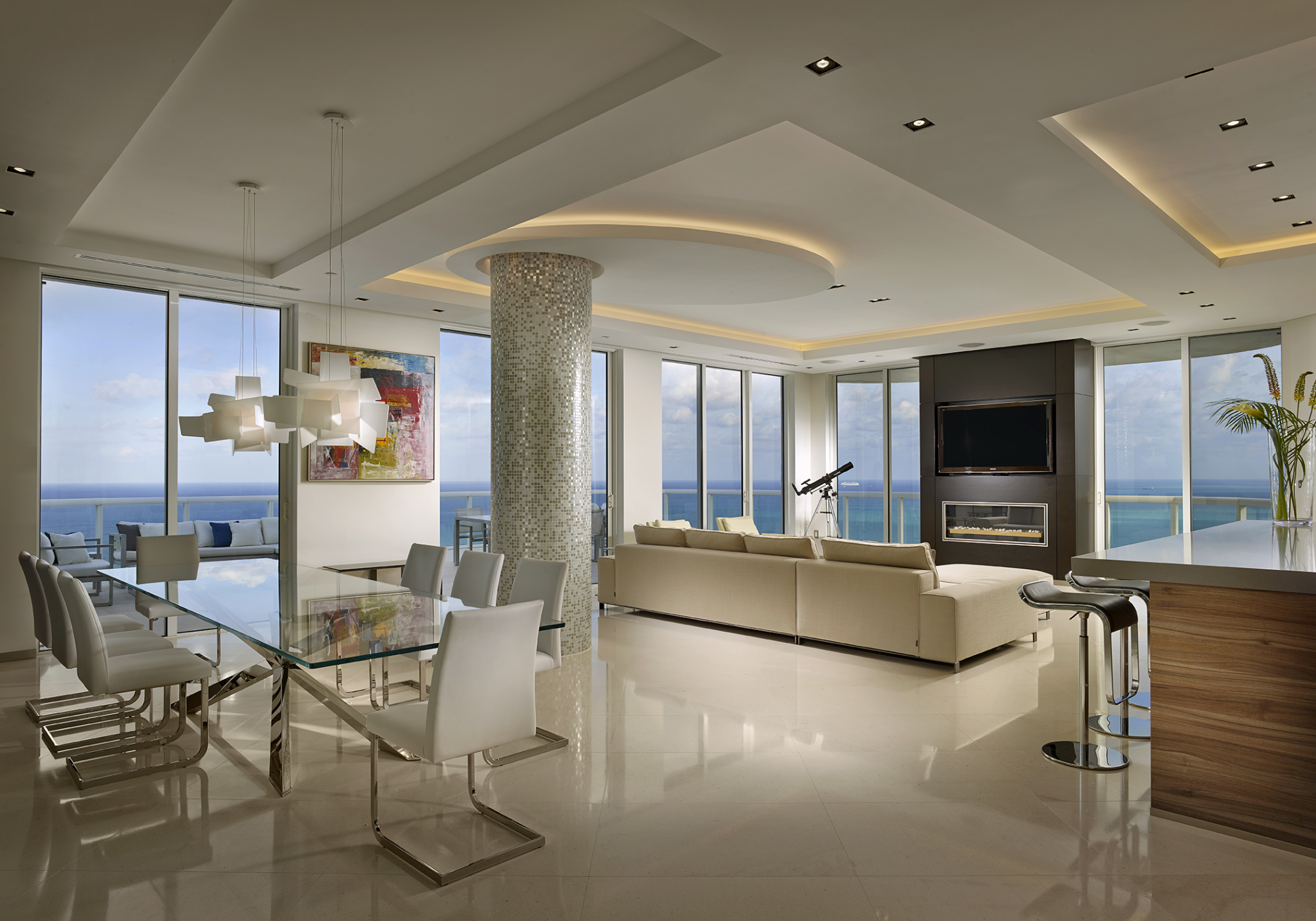 Luxurious Apartment Penthouse Designs Chairish Blog