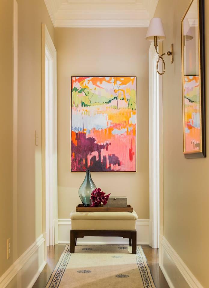 Boston Hallway by Nicole Hogarty Designs