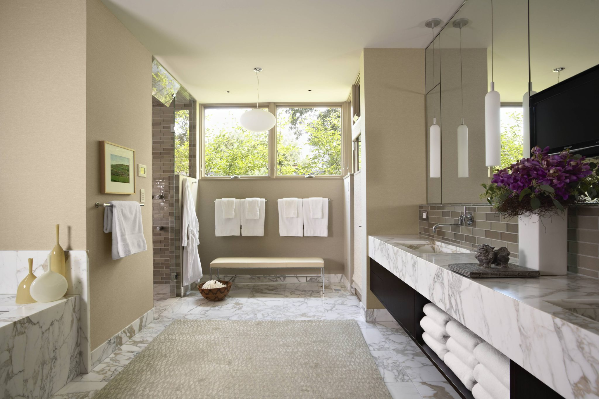 Basswood Master Bath by Andrew Flesher