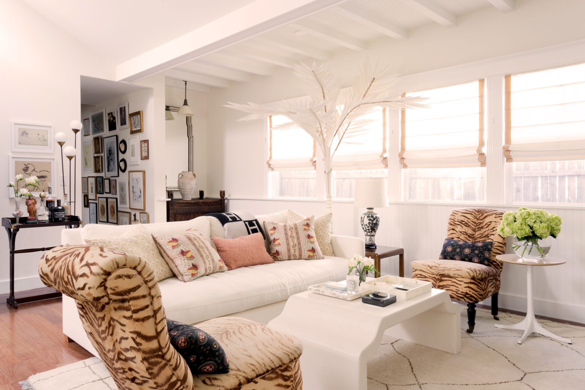 San Juan living room by West Haddon Hall