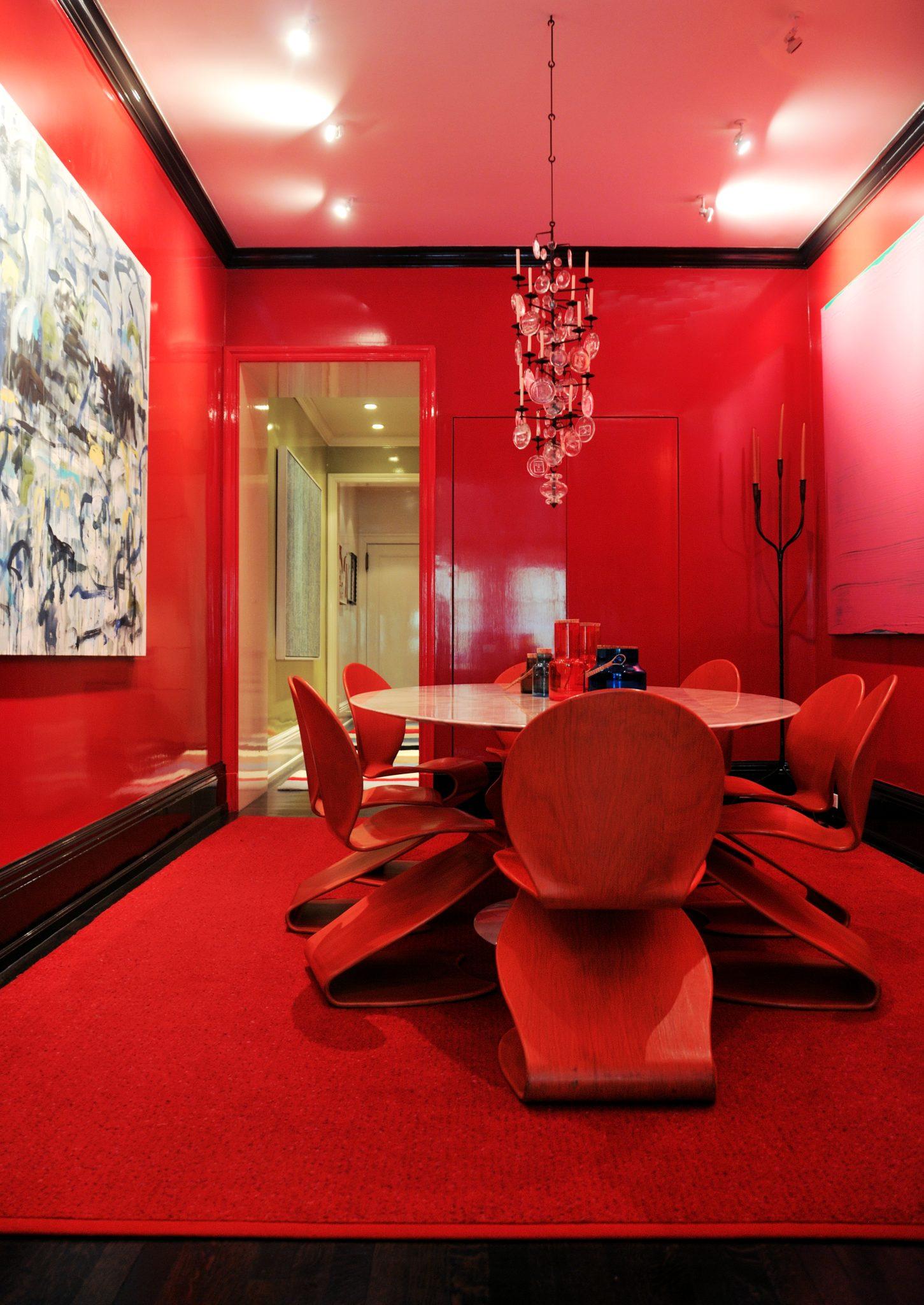 Gramercy Park dining room by Apsara Interior Design