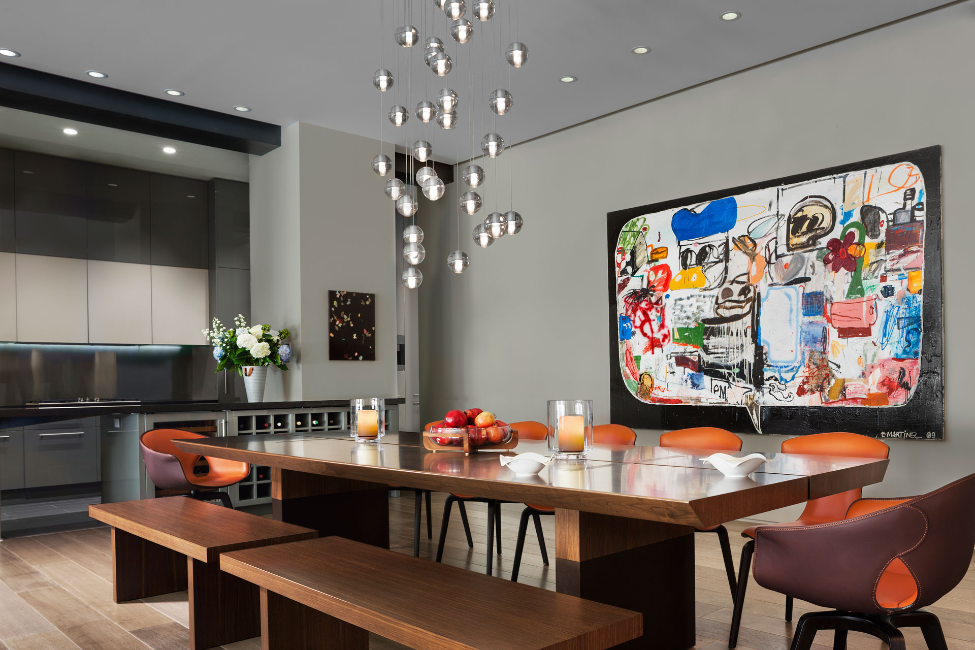 Bond Street loft | dining area by Axis Mundi