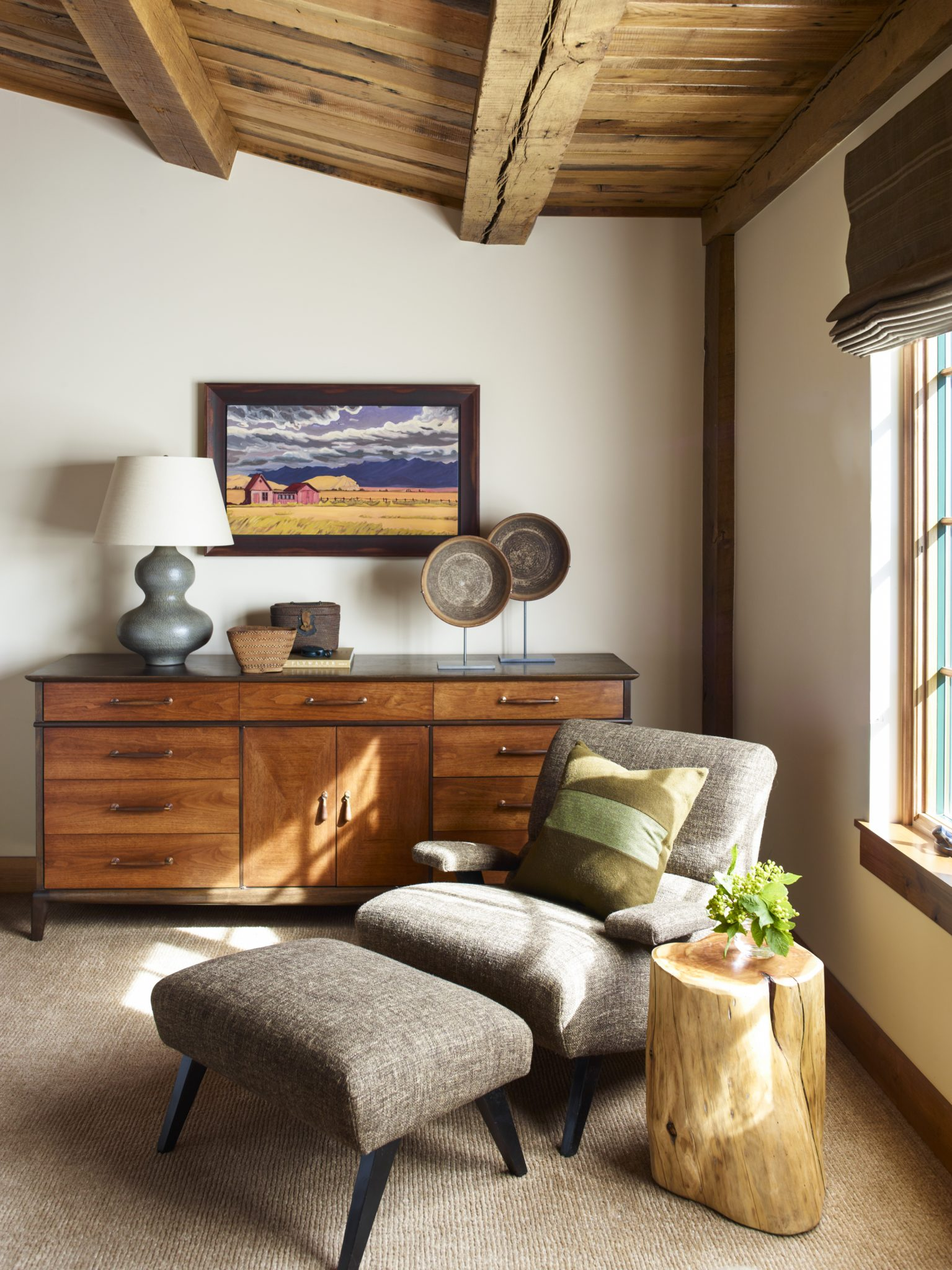 Rustic Montana Retreat - Bedroom by Kylee Shintaffer