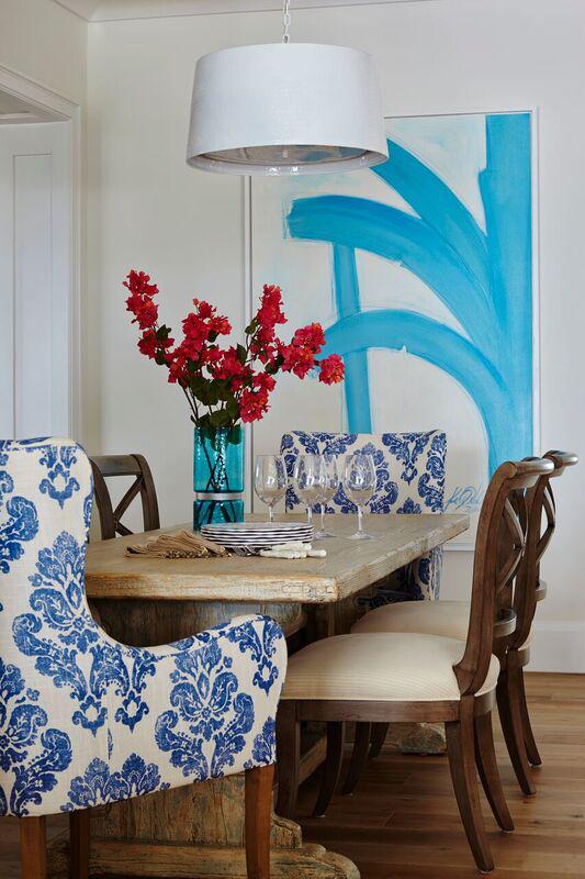 Transitional dining room by JMA Interior Design