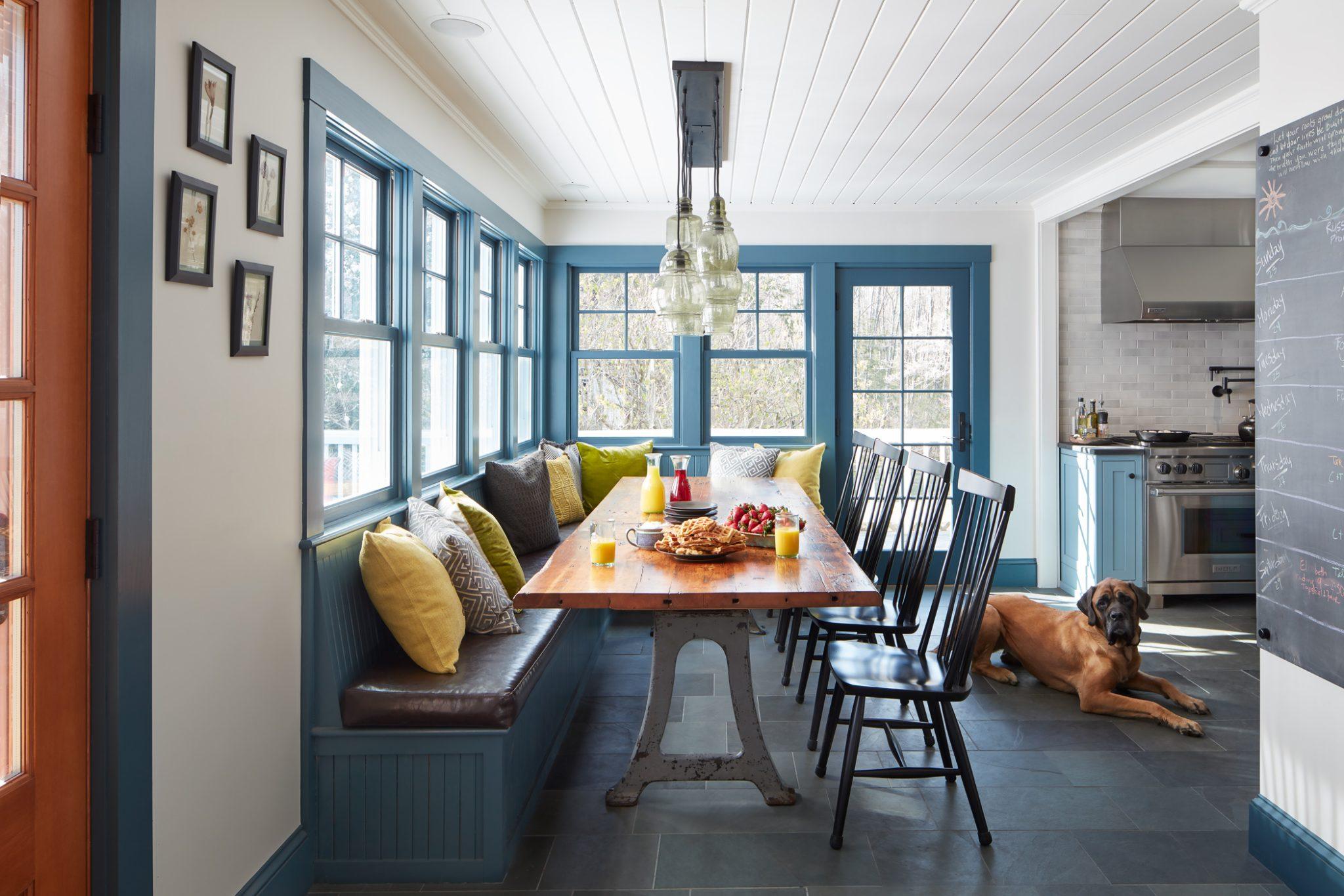 Essex farmhouse kitchen by Kristina Crestin Design