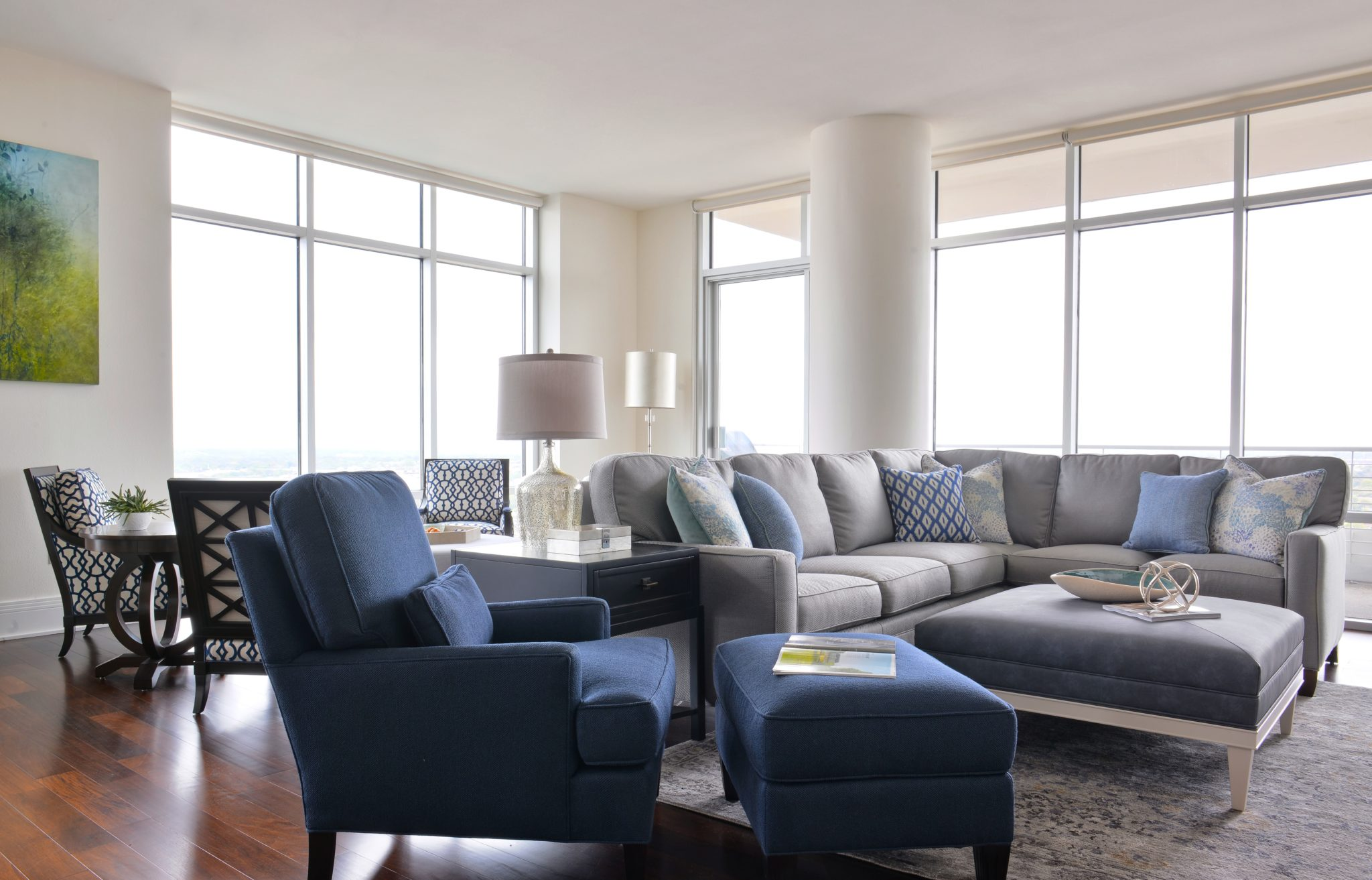 A Dallas hi-rise condominium that is perfect for a family who loves to entertain by Barbara Gilbert Interiors