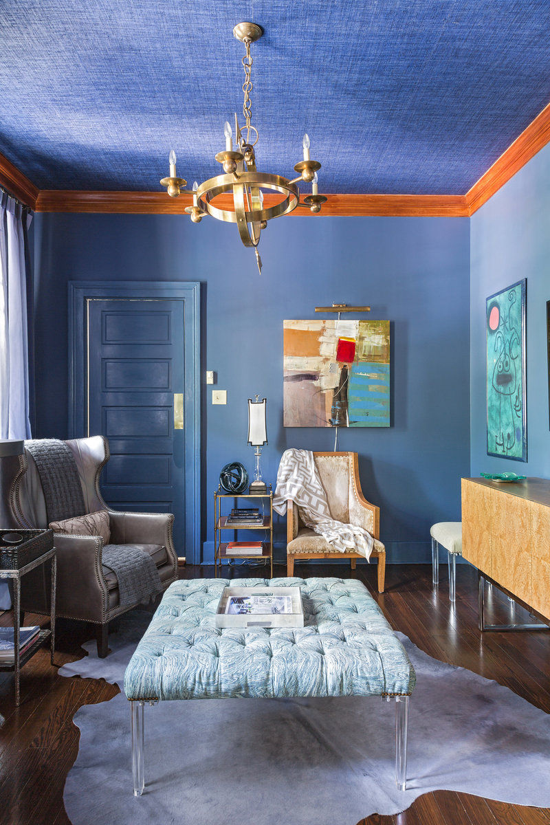 Blue Office by Eclectic Home