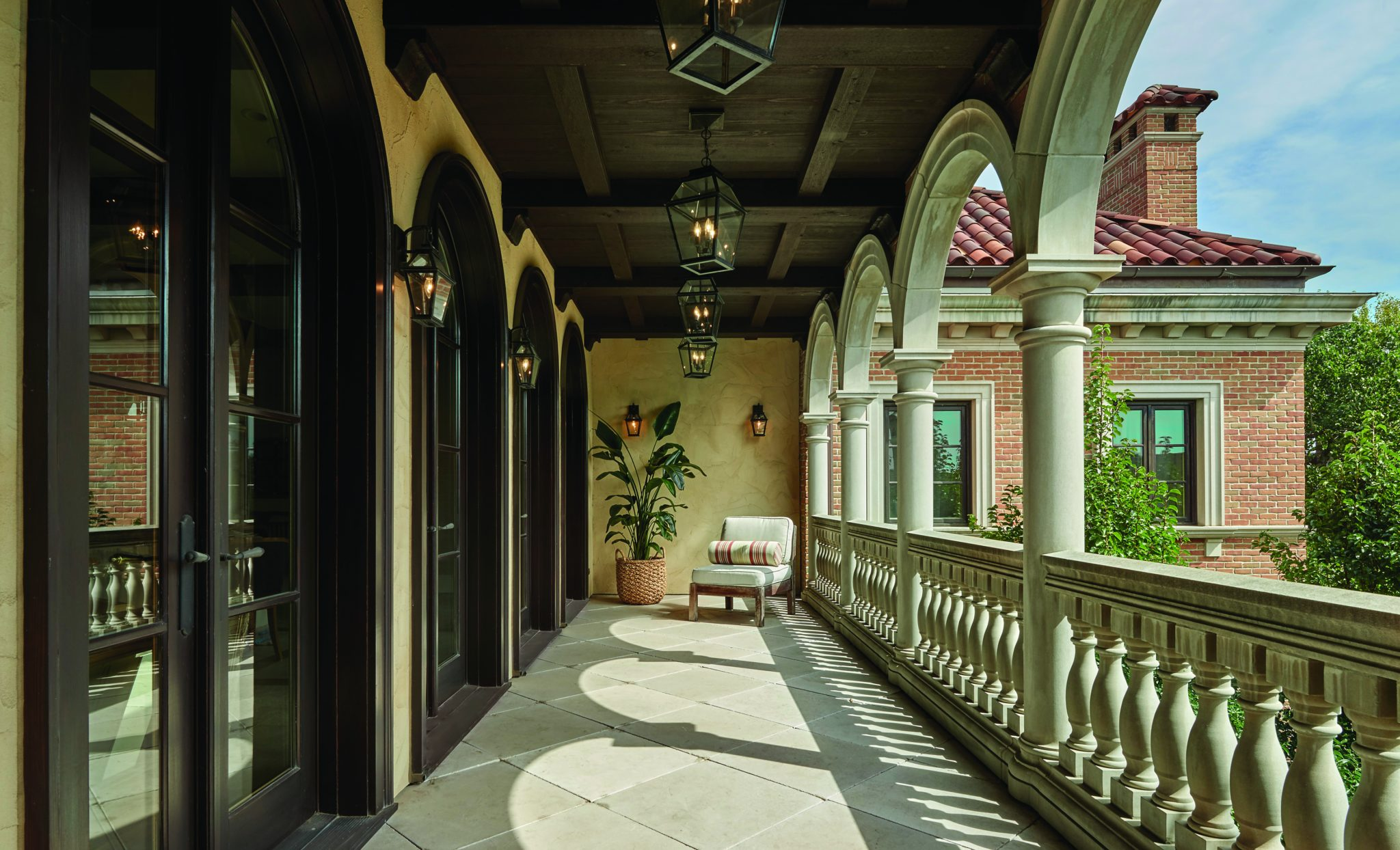 Portico in Lincoln Park by BGD&C Custom Homes