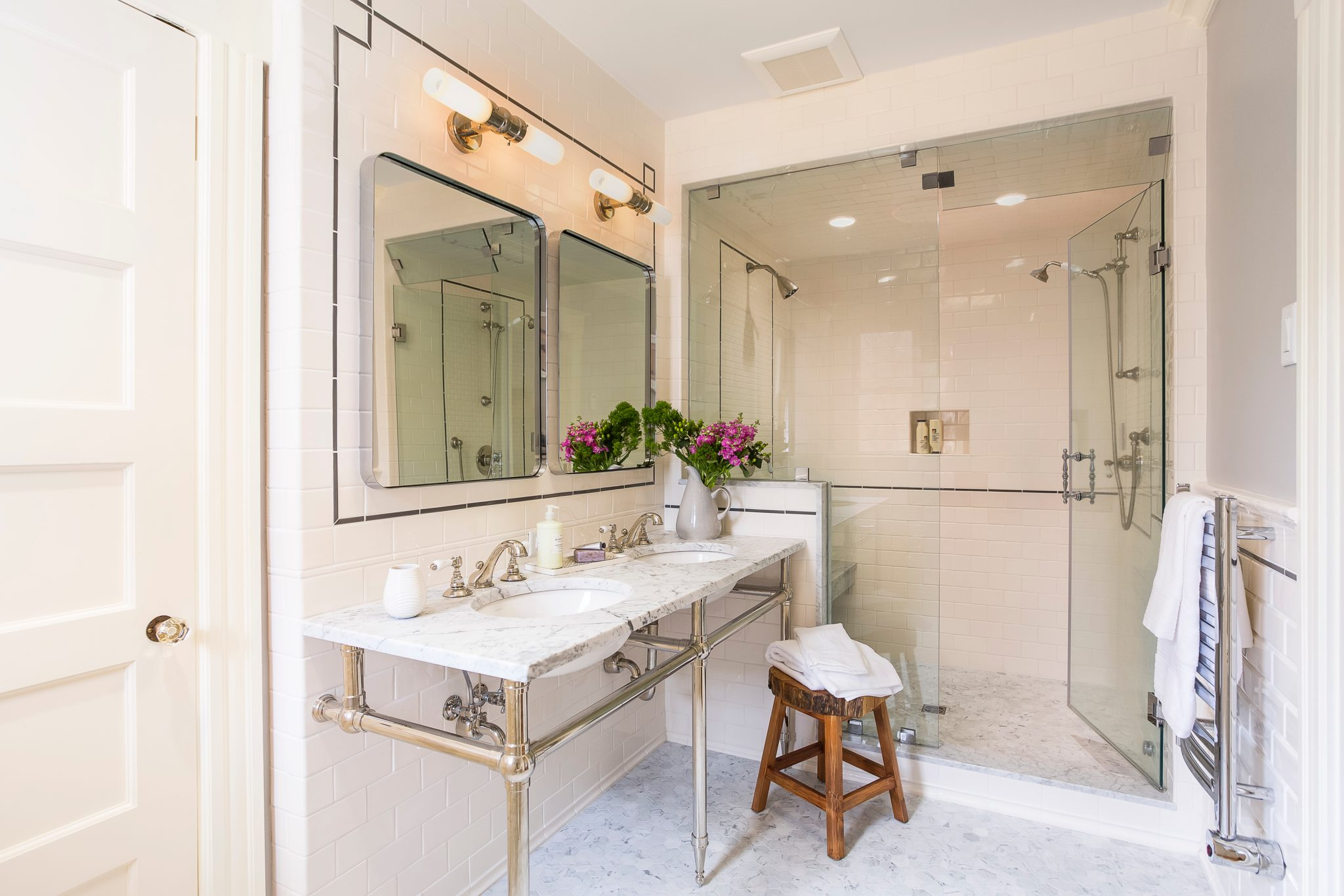 Master bathroomby SCS Design - Interiors by Sophia Shibles