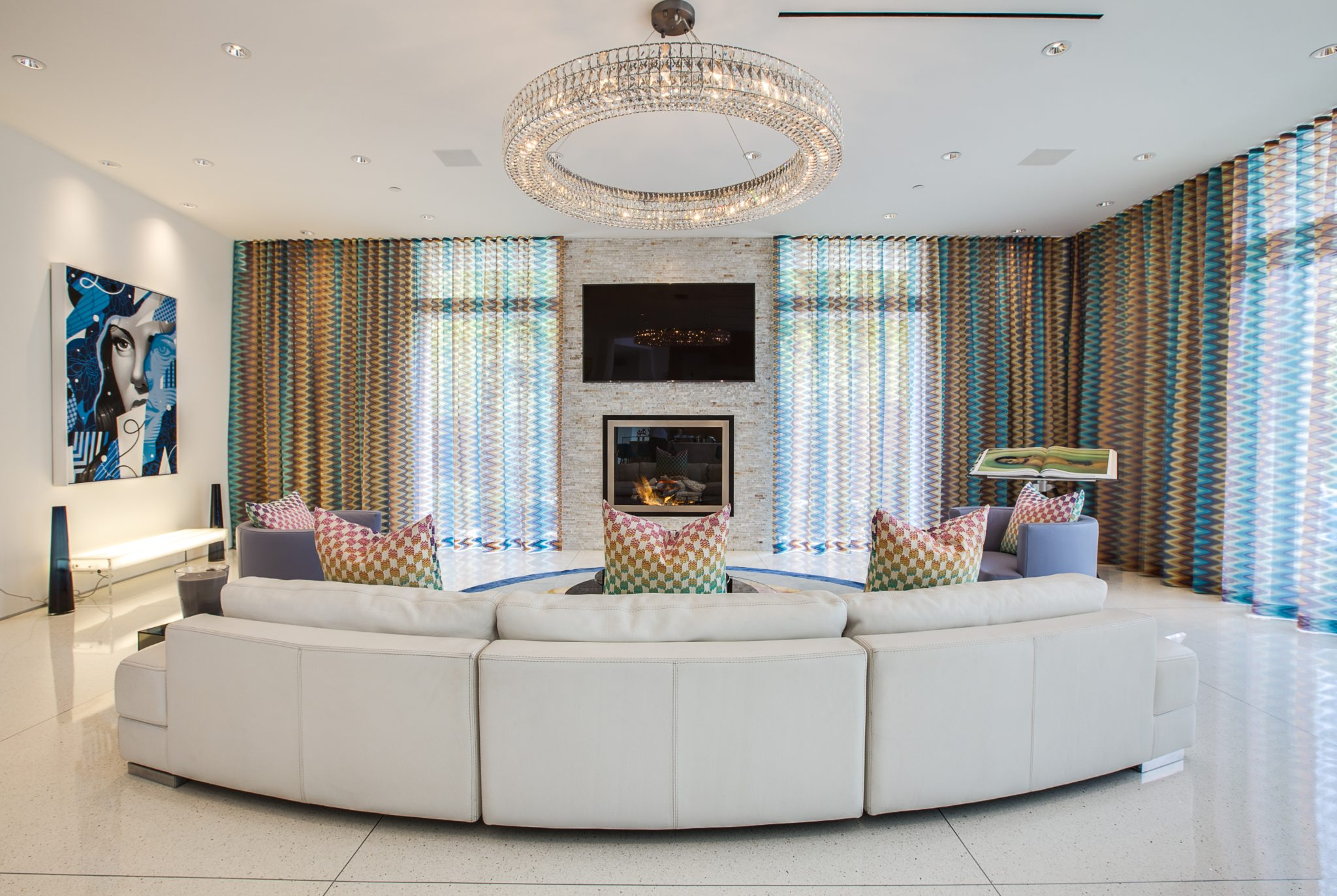 Beverly Hills Living Room by Crespo Design Group