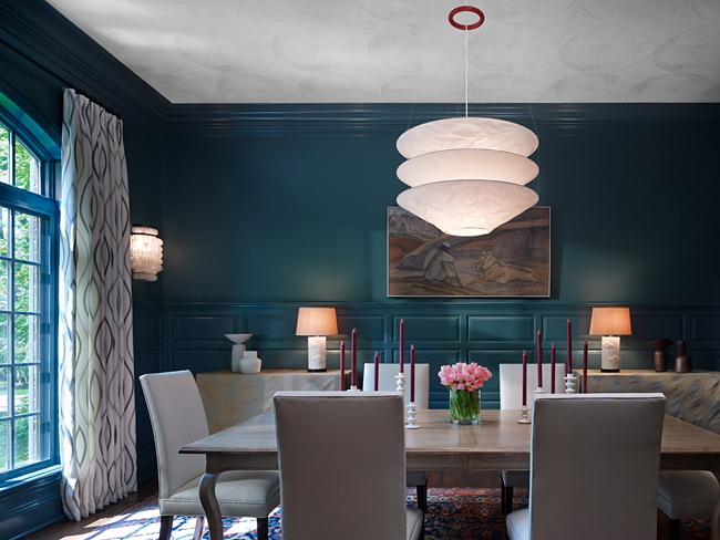 Dining room by Mitchell Channon Design