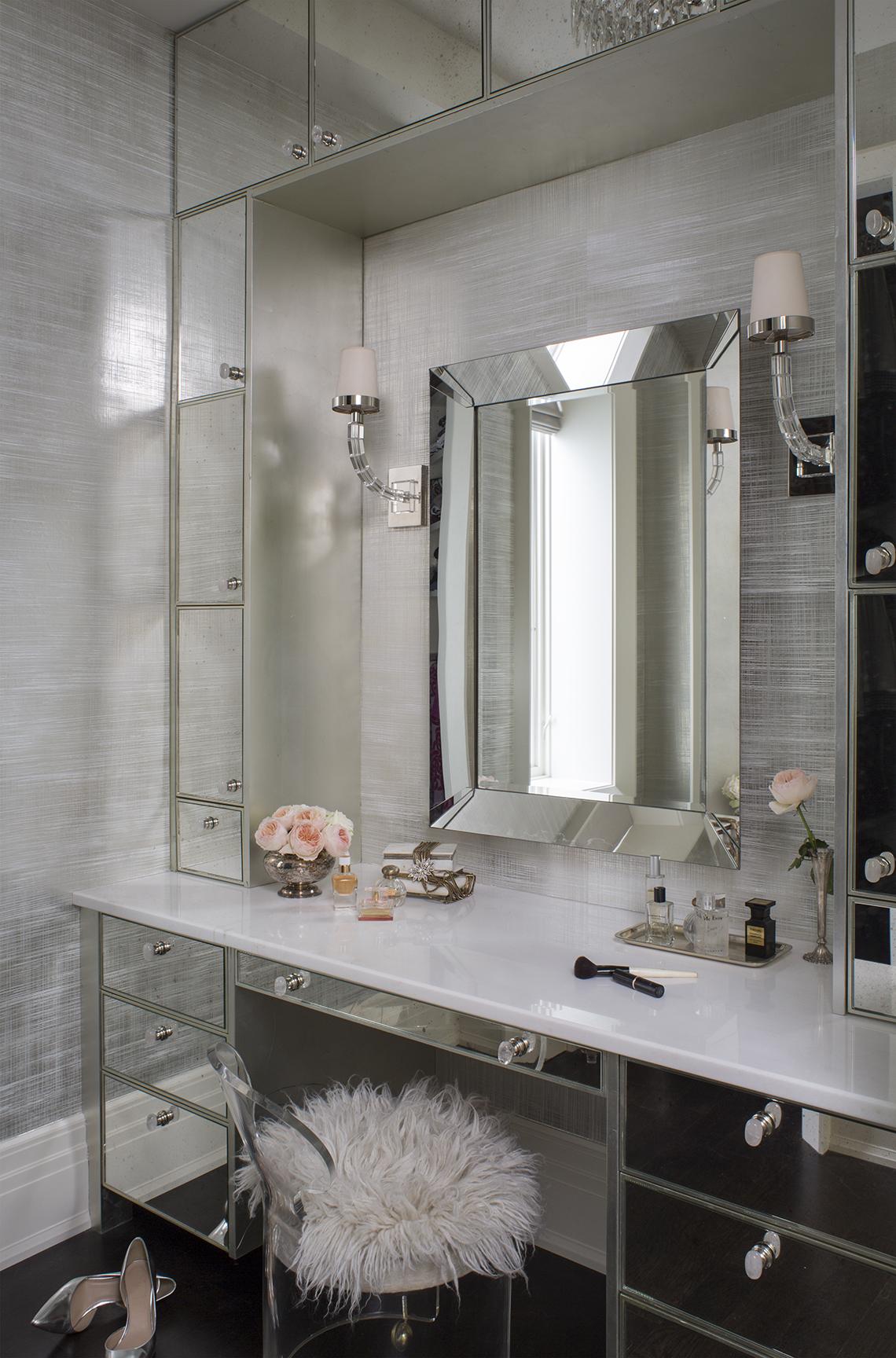 Urban Elegance - Master Bath by Wendy Labrum Interiors