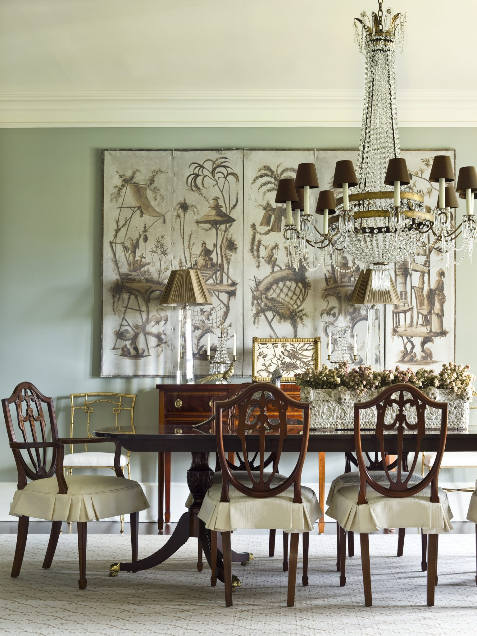 Dining room by Amy Morris