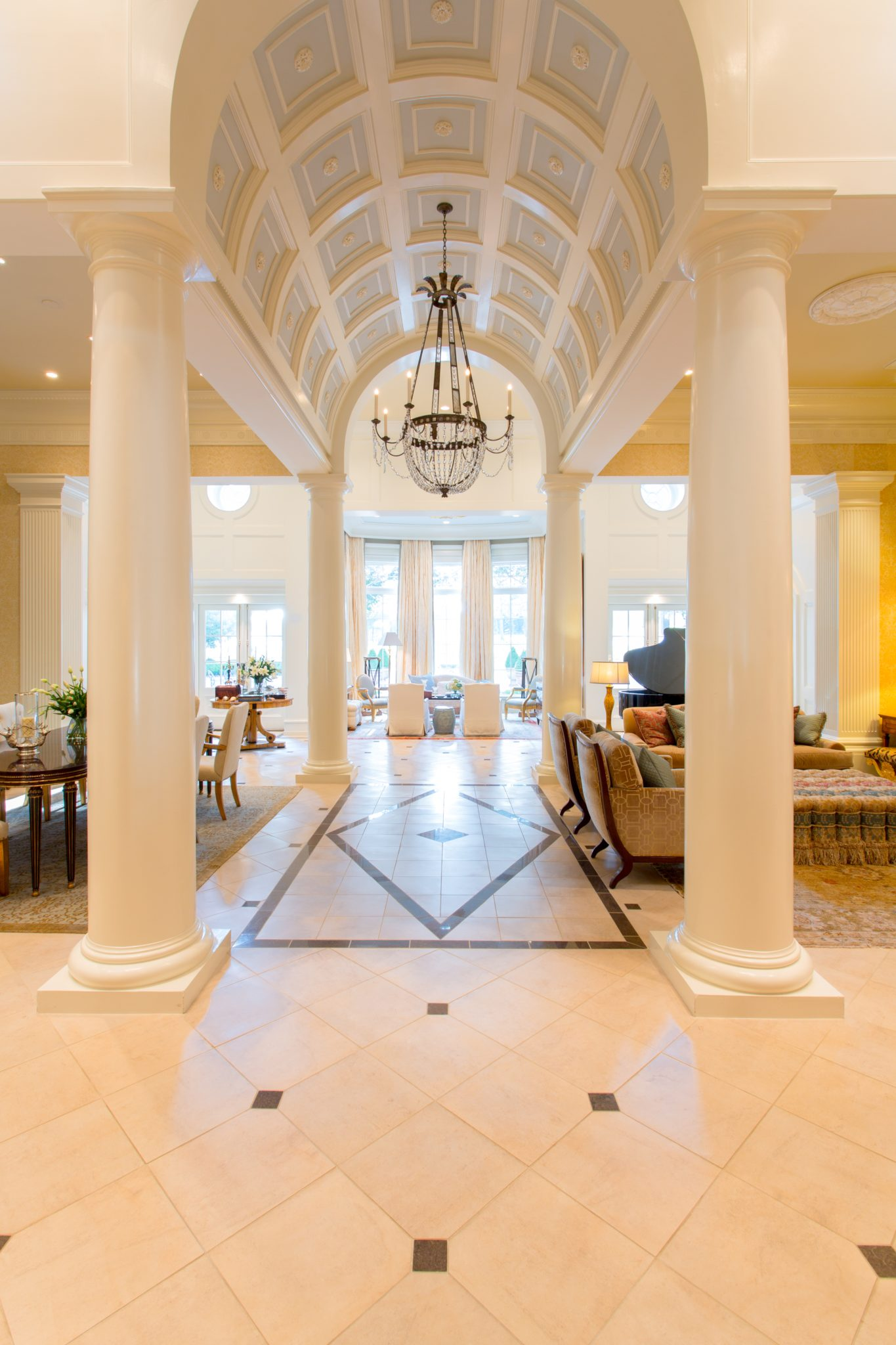 Mobile Country Club Renovation - Barrel Vaulted Ceiling by Walcott Adams Verneuille Architects