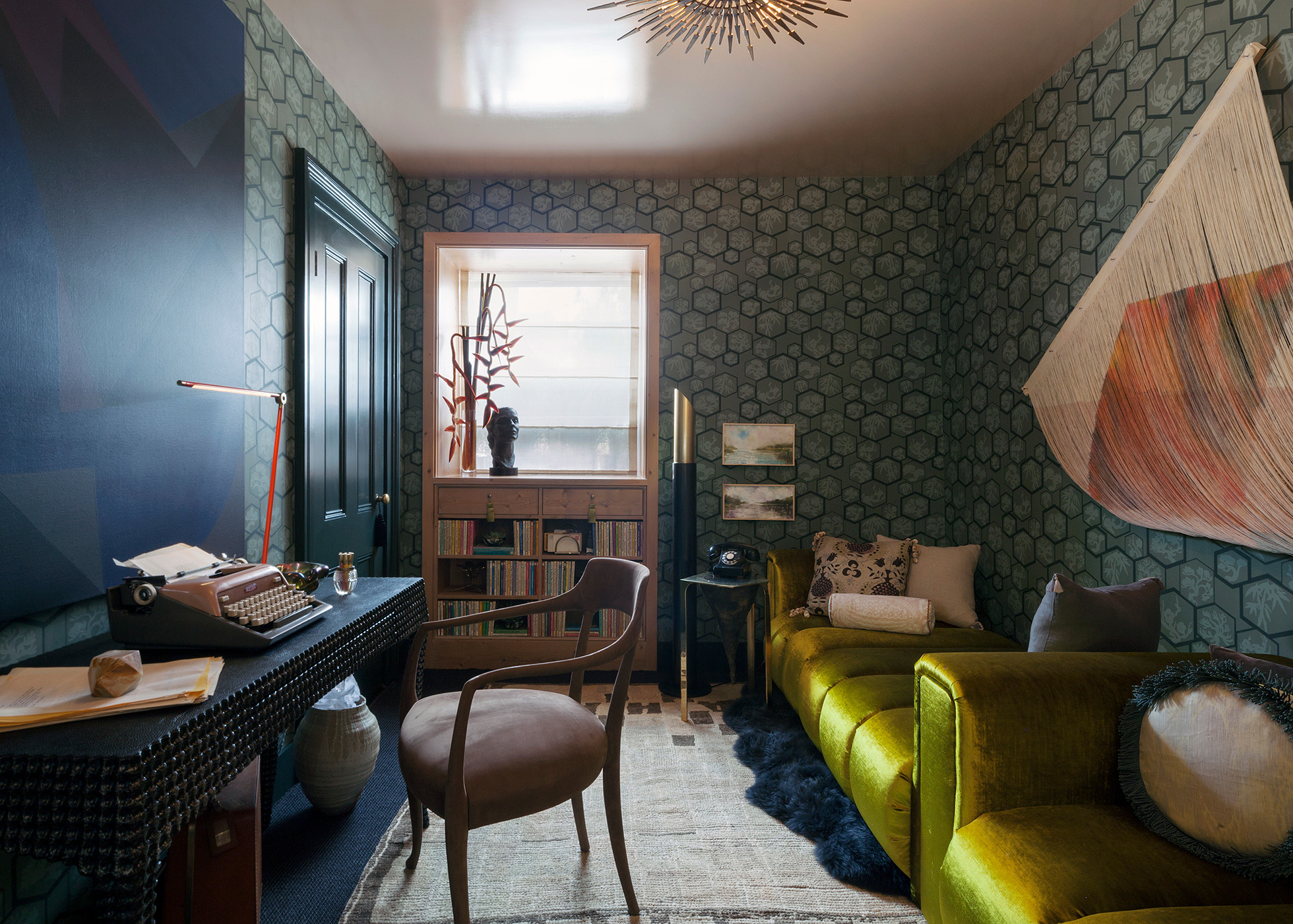 Brooklyn Heights Showhouse Lounge by Fearins | Welch Interior Design