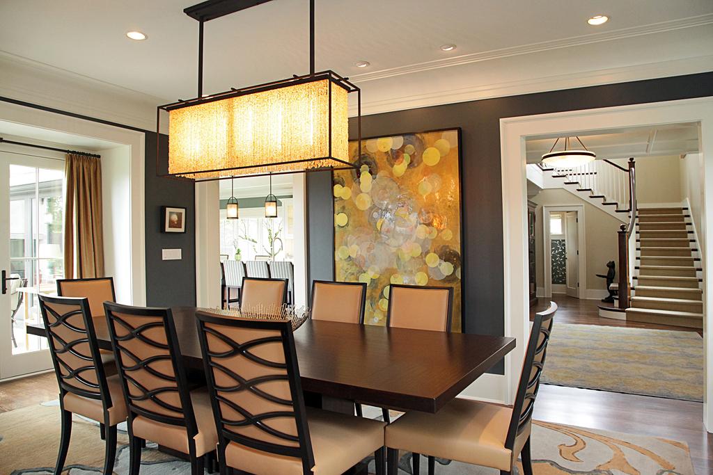 Washington Park dining room by LeeAnn Baker Interiors Ltd.