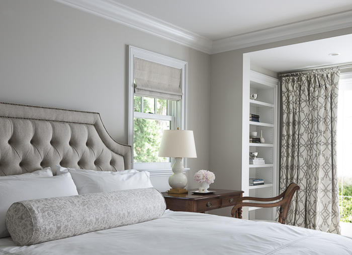 bedroom by Marianne Simon Design