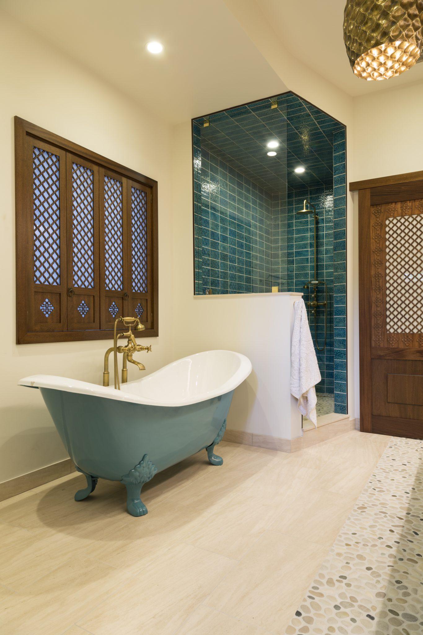 Island Master Bath Tub by Mia Rao Design