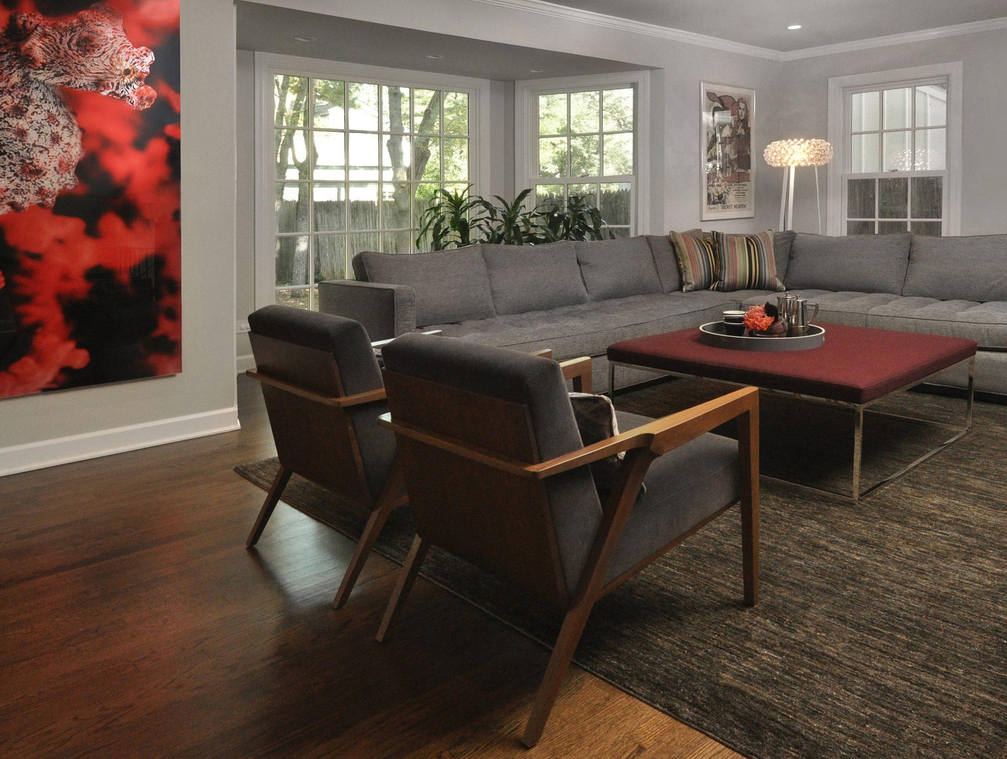 Winnetka Single Family - Family Room by Nicholas Moriarty Interiors