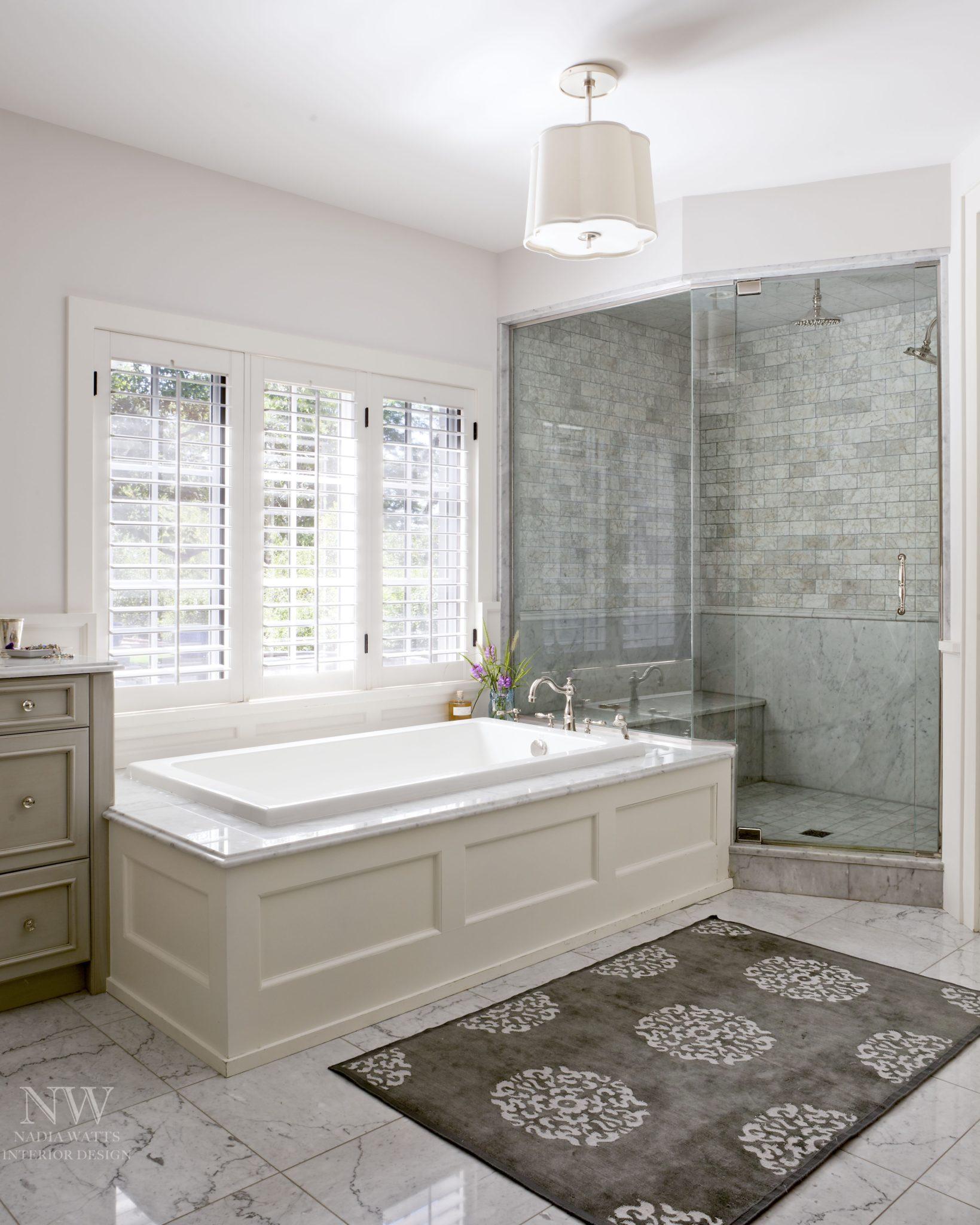 Greenwood Village Master Bath by Nadia Watts Interior Design