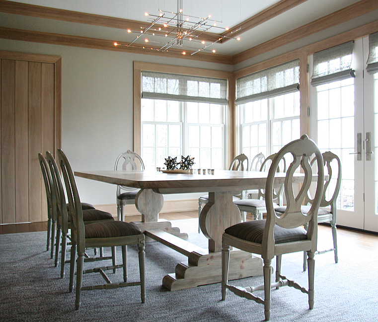A dining room in Washington, Connecticut,by Carrier and Company