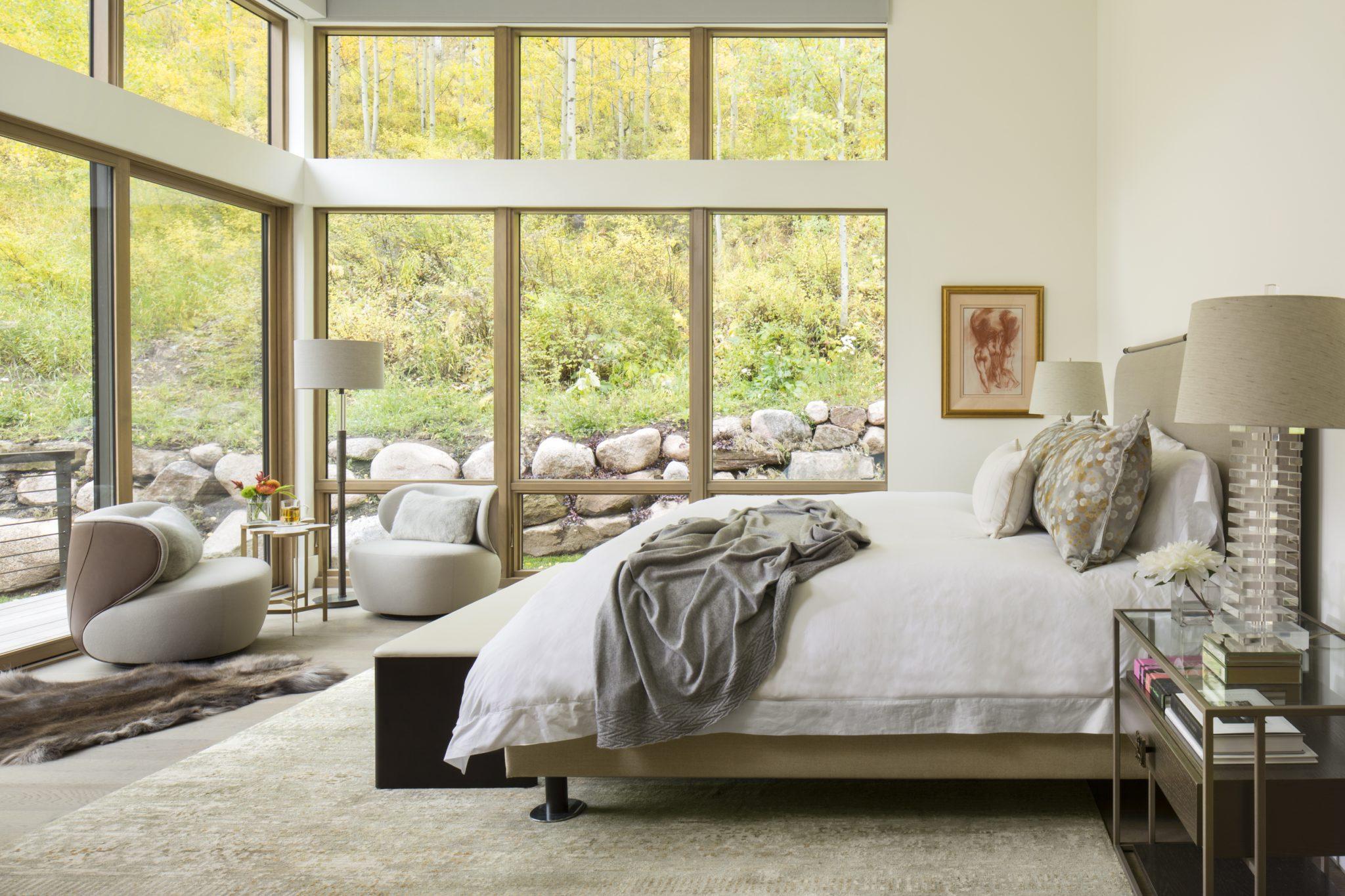 Warm andmodern property inVail, Colorado. By Slifer Designs