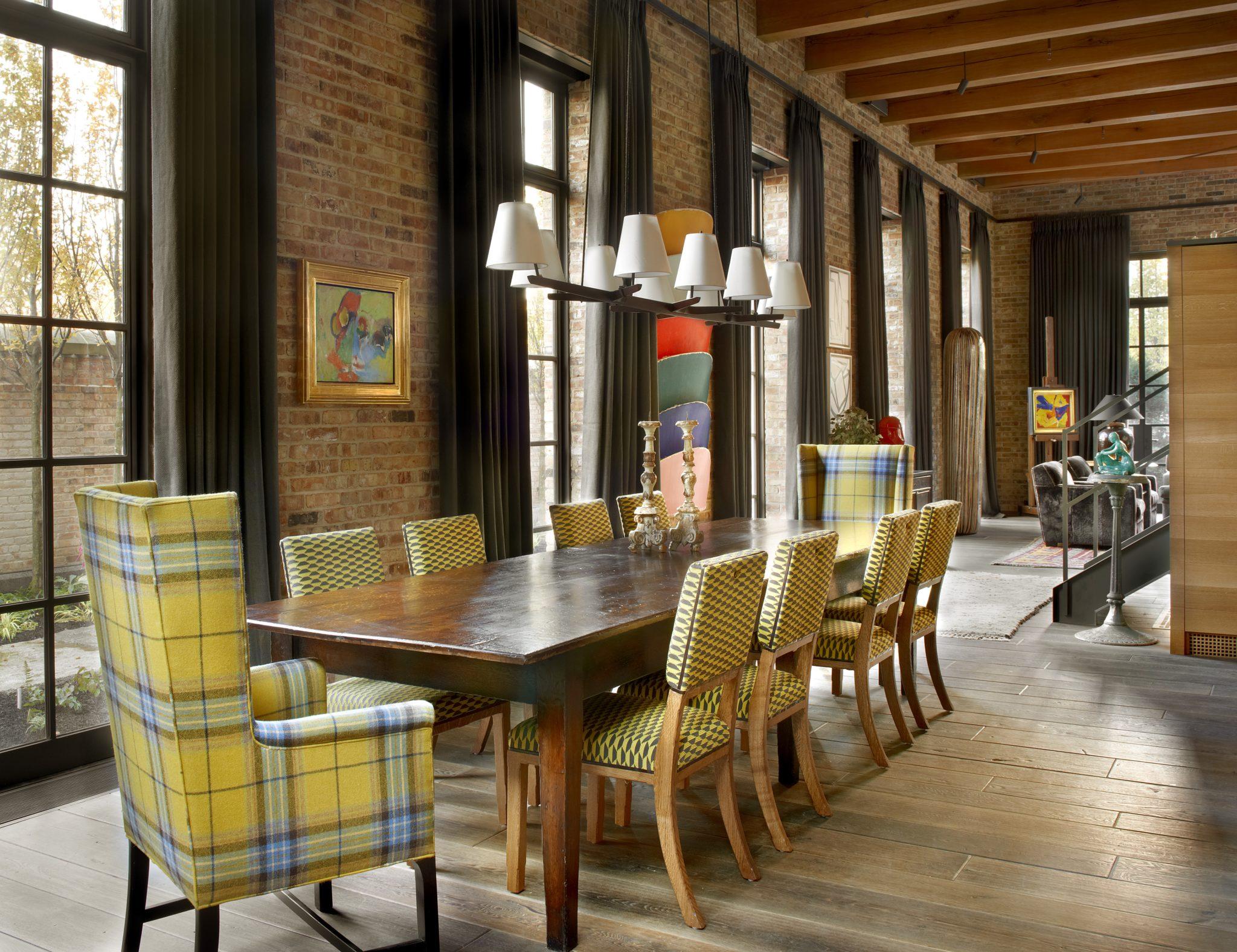 Dining room by Bruce Fox