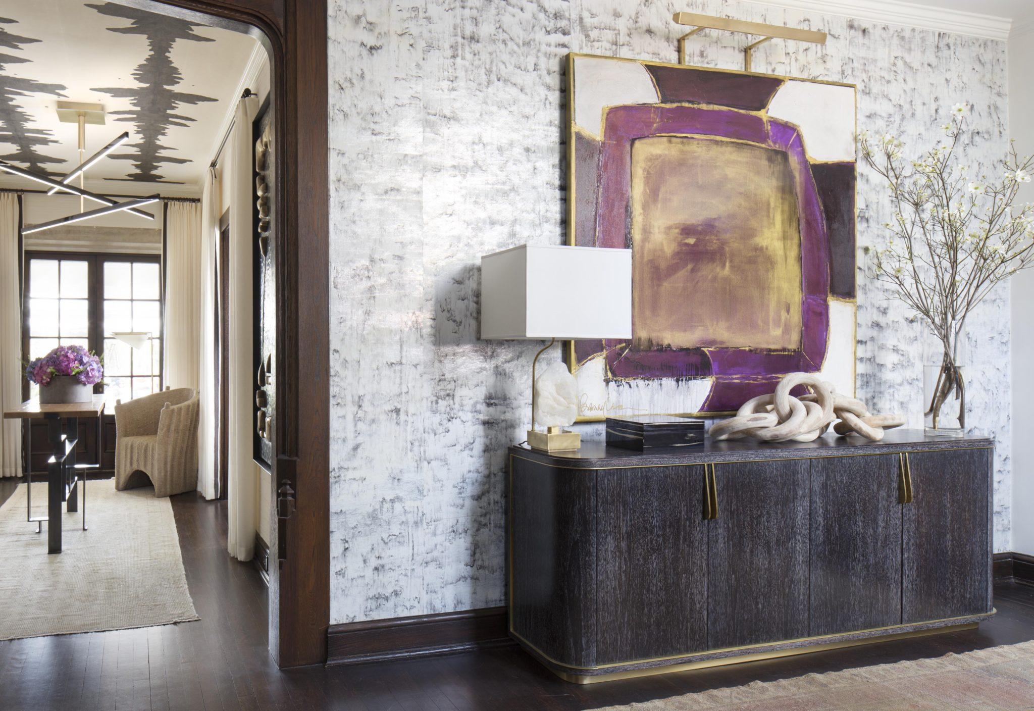 Entry and gallery by Elizabeth Krueger Design