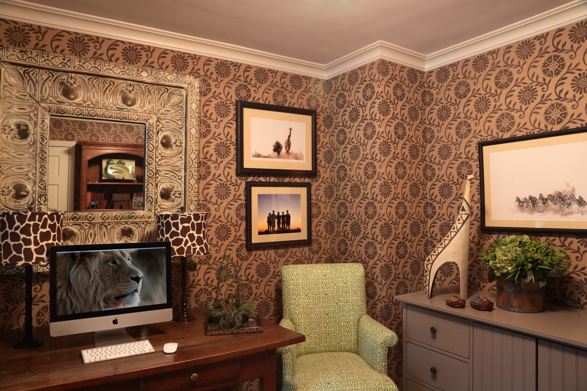 Home Office by Carol Flanagan Interior Design