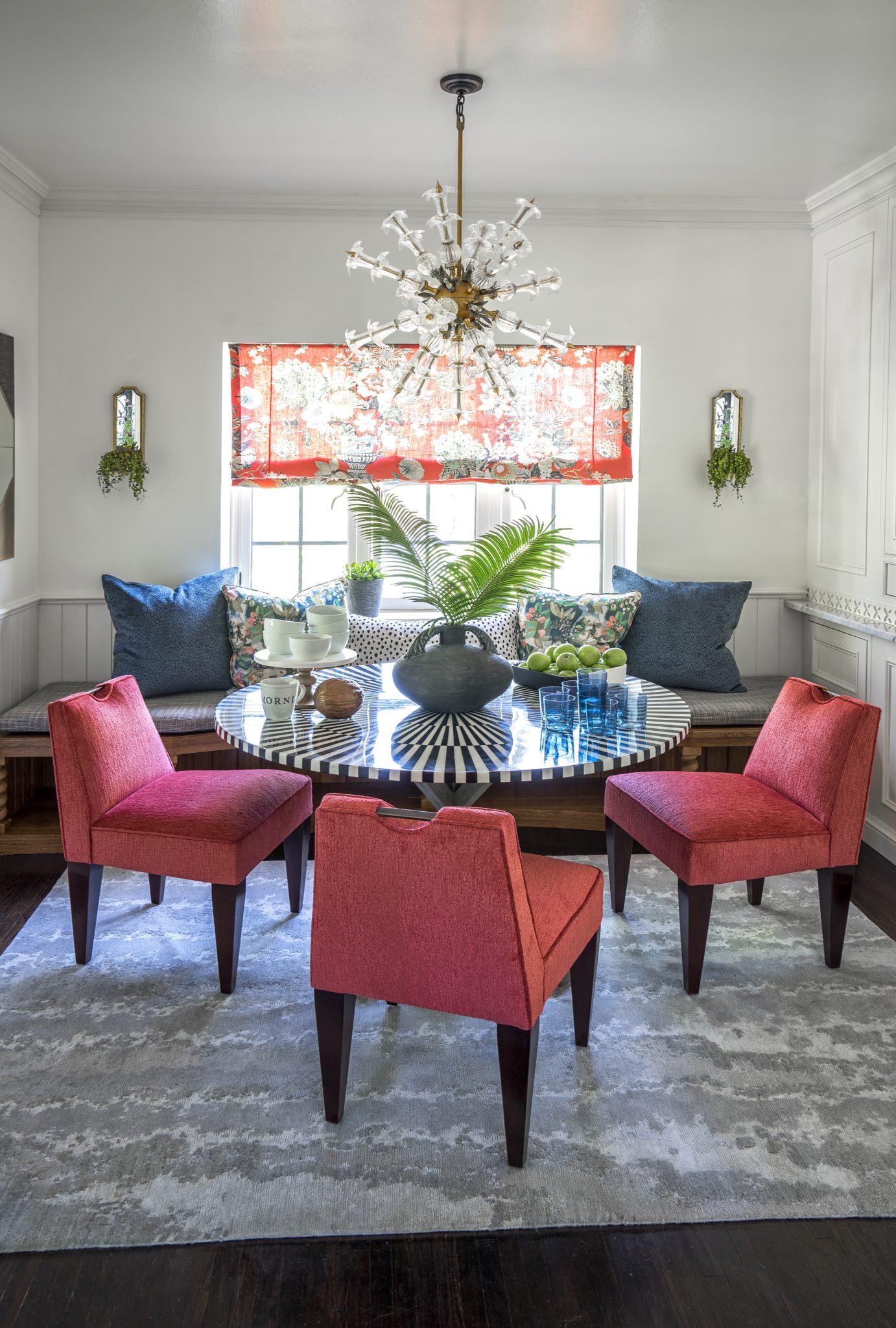 Breakfast room by Brooke Lang Design